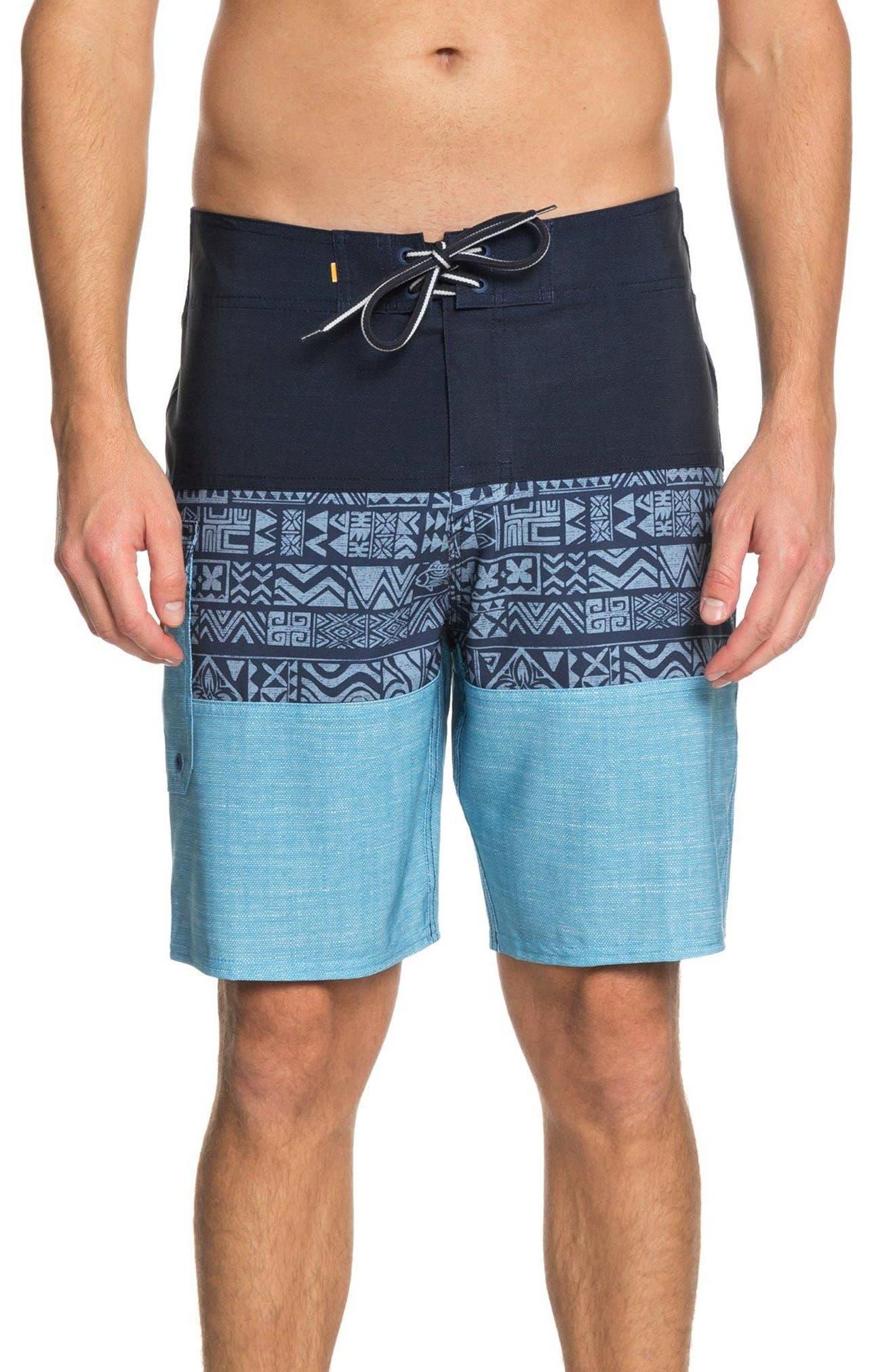 Fairway Triblock Board Shorts,                         Main,                         color, 401