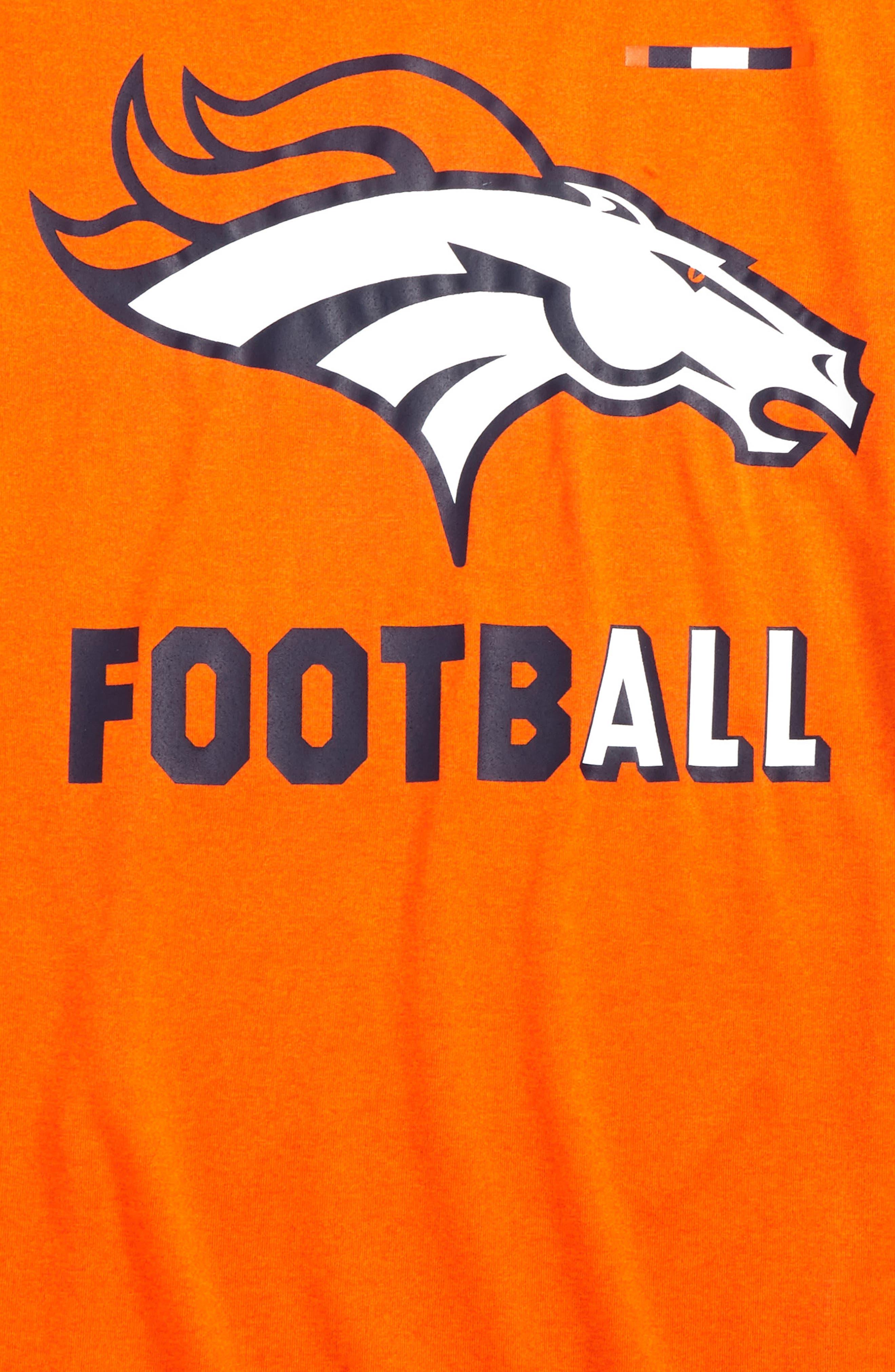 Nike NFL Logo - Denver Broncos Dry T-Shirt,                             Alternate thumbnail 2, color,                             821