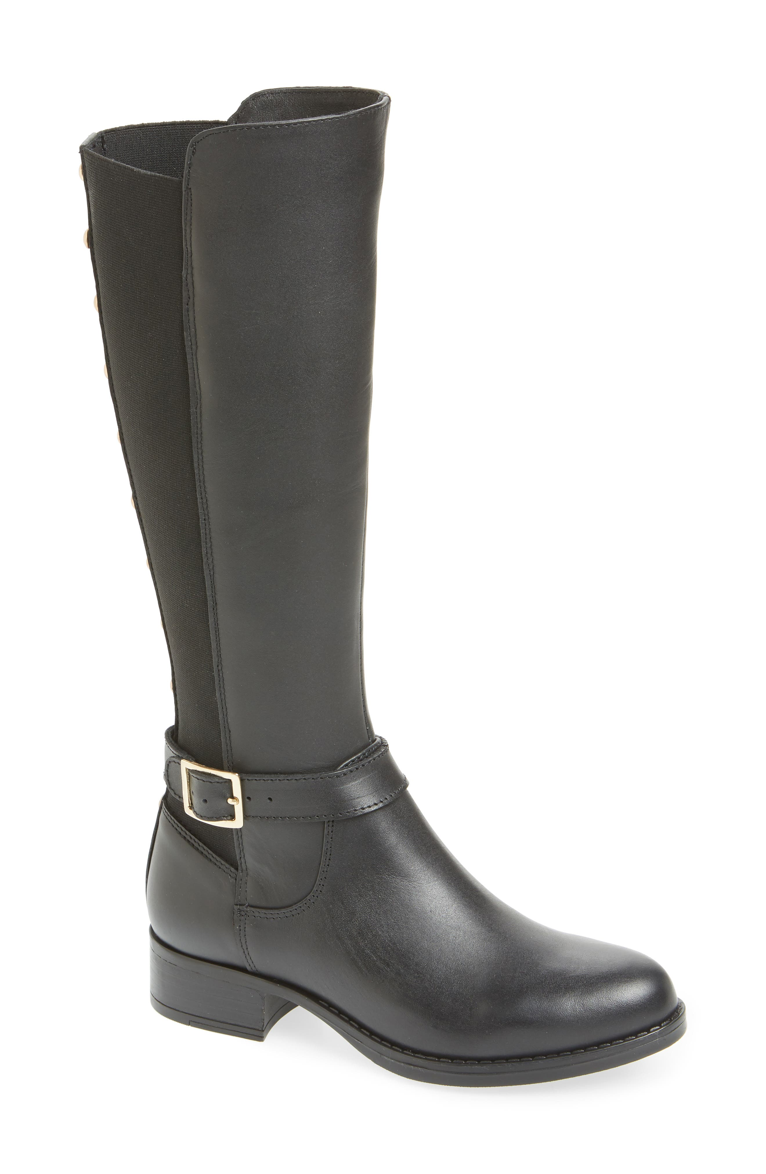 Jadine Knee High Boot, Main, color, 001