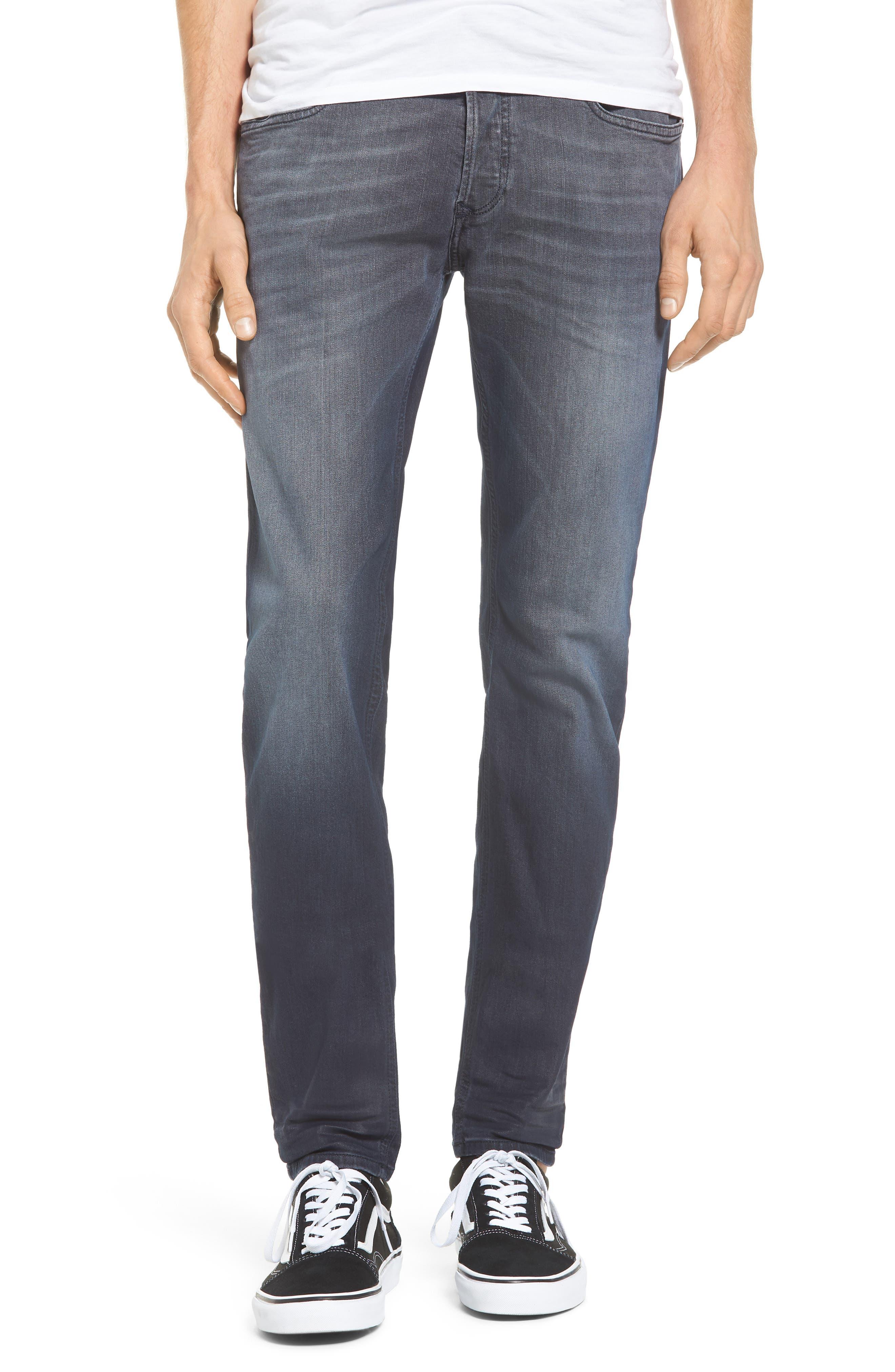 Sleenker Skinny Fit Jeans,                             Main thumbnail 1, color,                             400