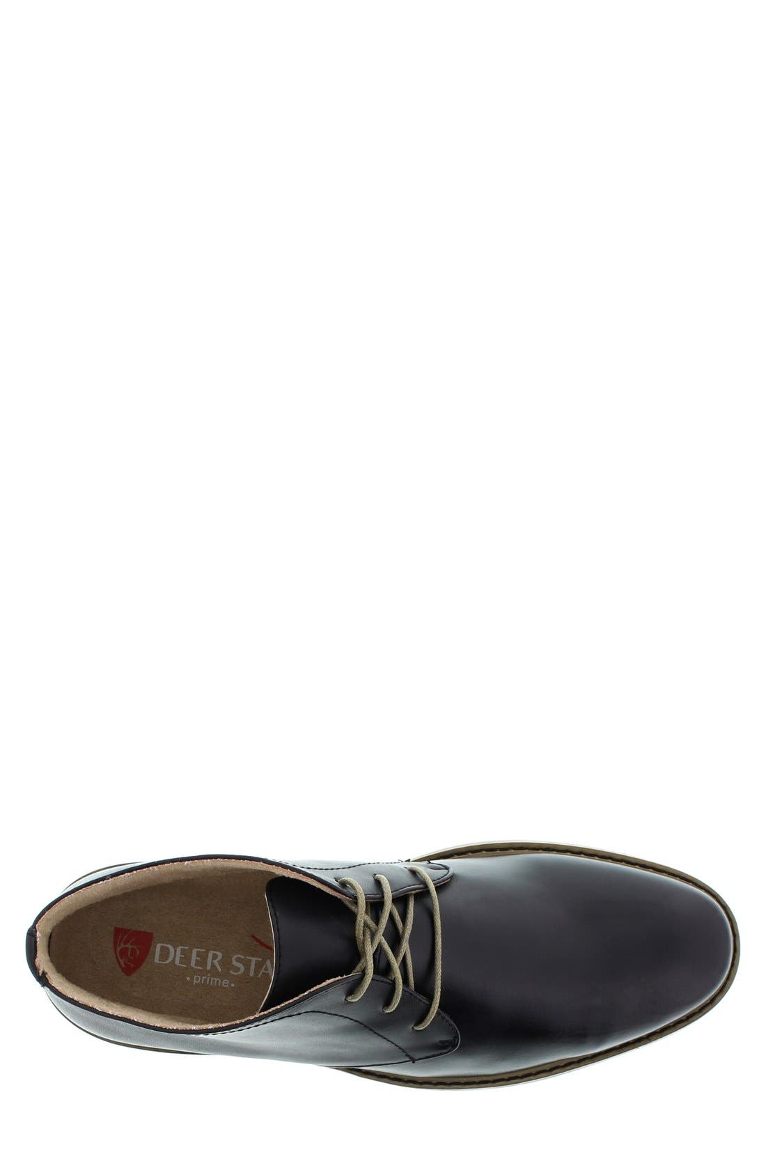 DEER STAGS,                             'Seattle' Leather Chukka Boot,                             Alternate thumbnail 3, color,                             001