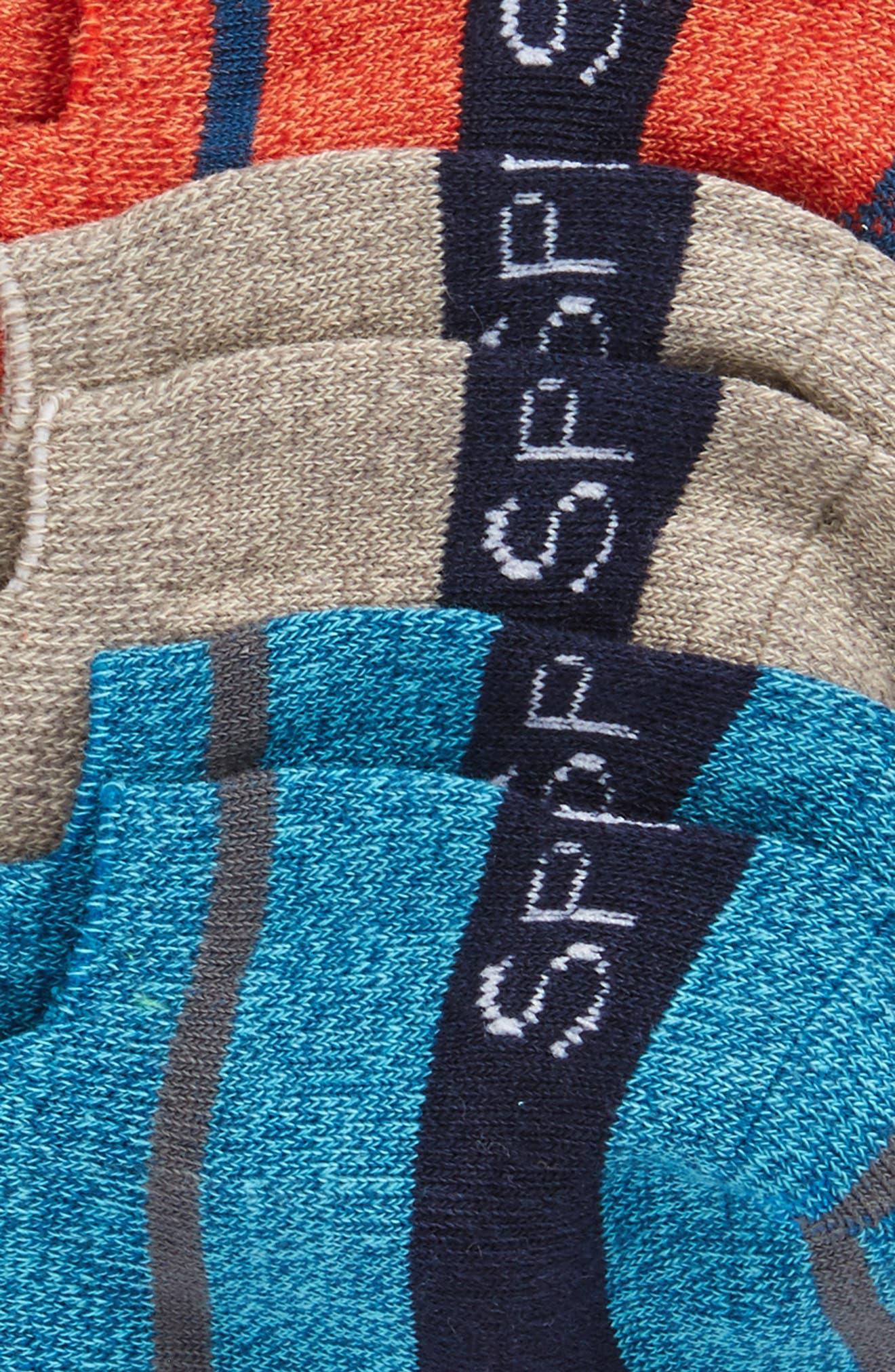 3-Pack Liner Socks,                             Alternate thumbnail 2, color,                             840