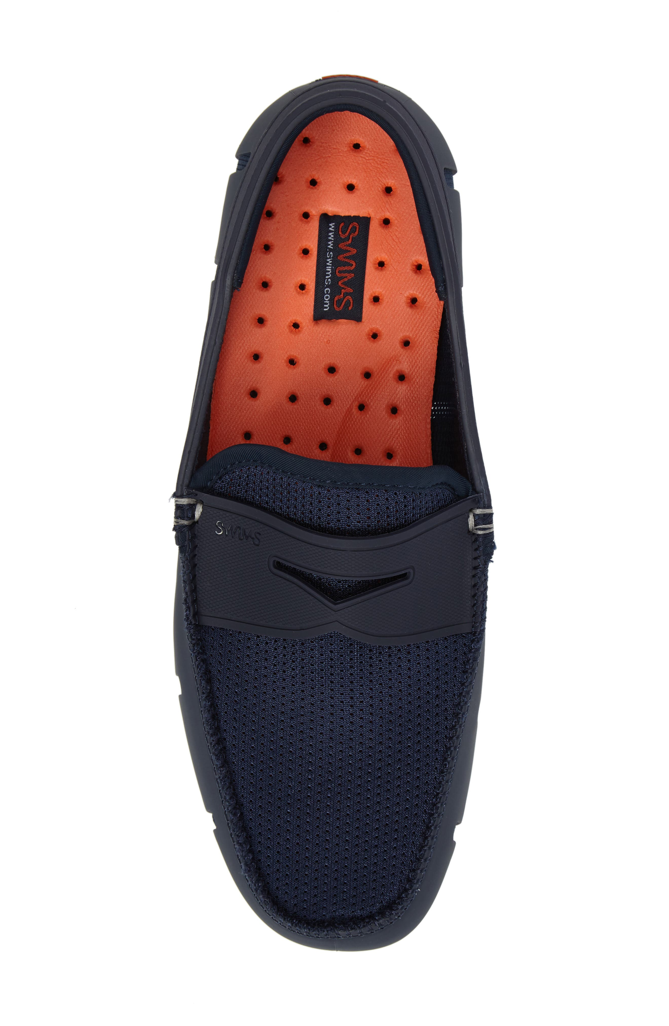 Penny Loafer,                             Alternate thumbnail 5, color,                             NAVY/NAVY