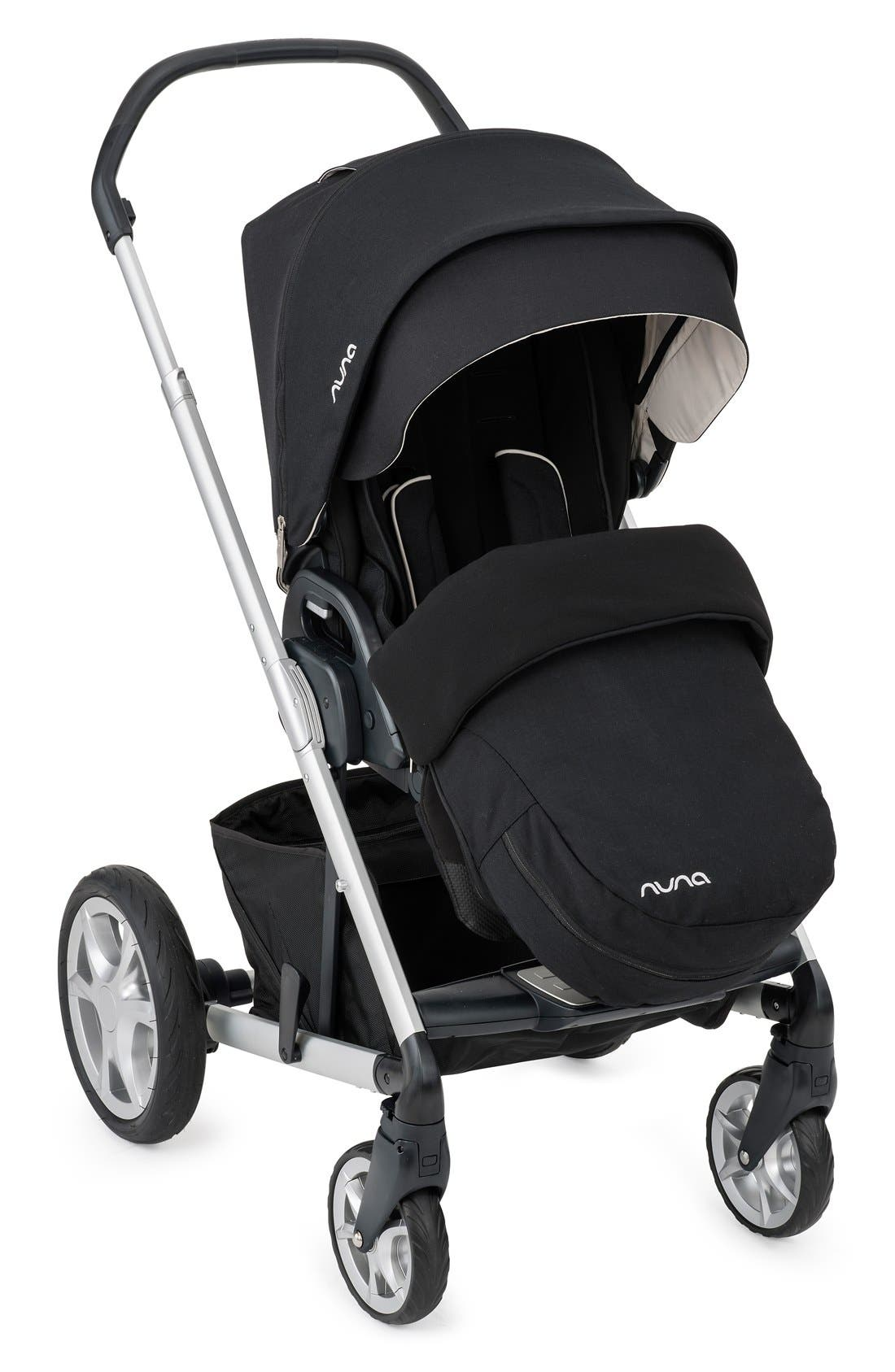 'MIXX<sup>™</sup>' Stroller Footmuff & Seat Liner,                             Alternate thumbnail 2, color,                             CAVIAR