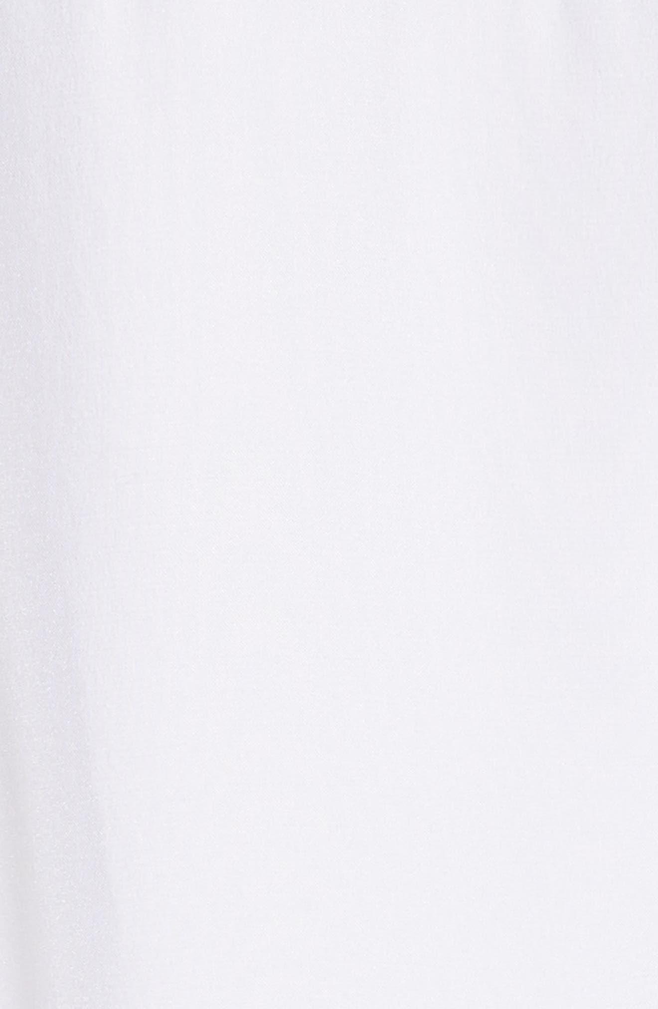 Long Cuff Silk Shirt,                             Alternate thumbnail 5, color,                             120