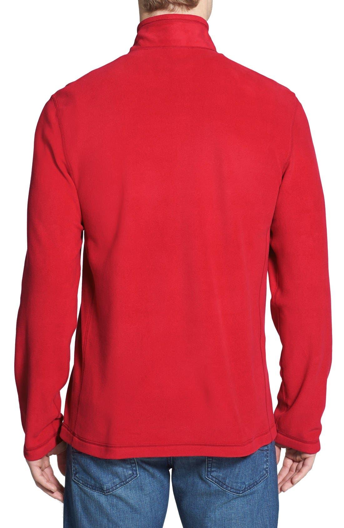 'TKA 100 Glacier' Quarter Zip Fleece Pullover,                             Alternate thumbnail 144, color,