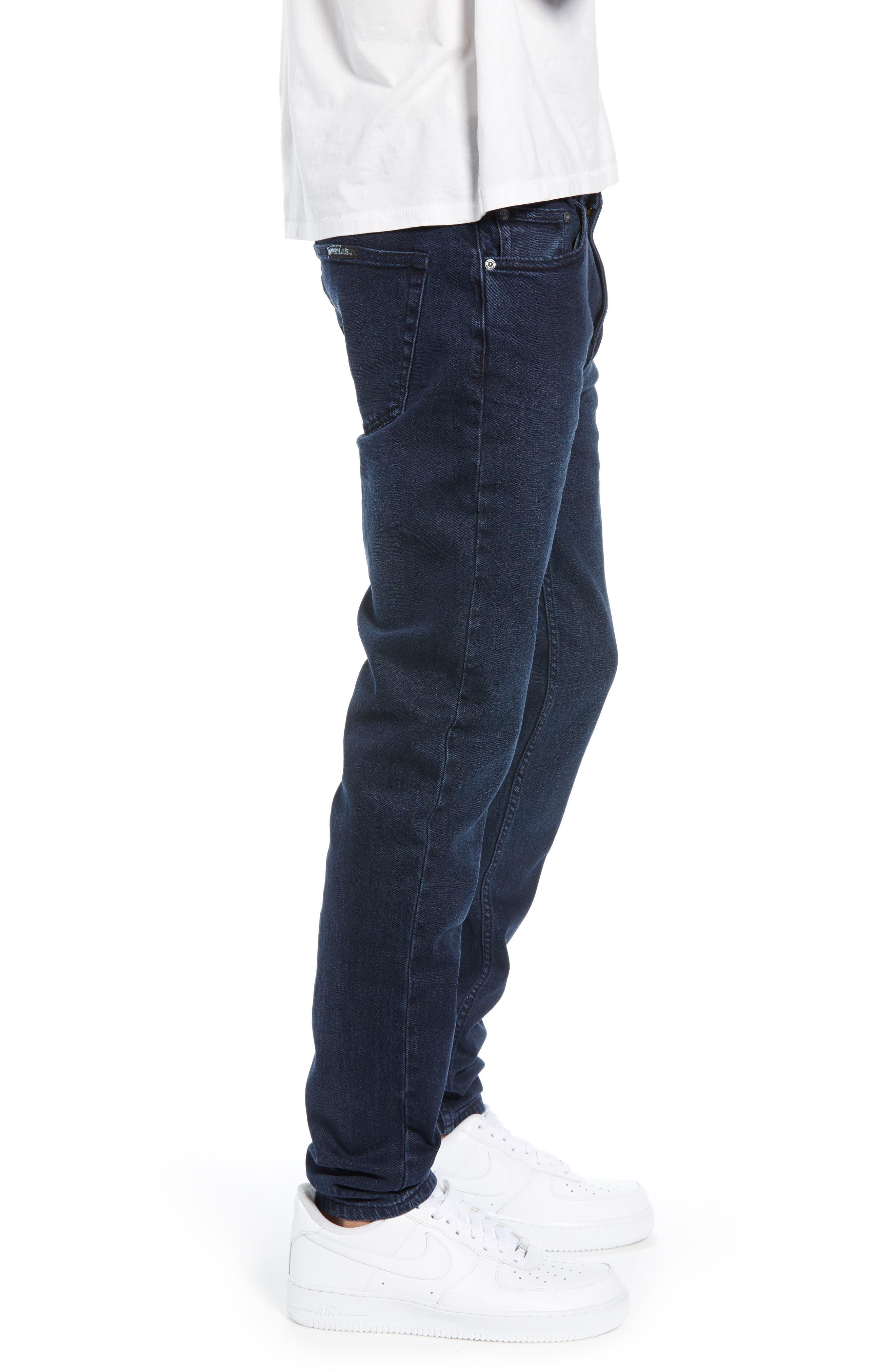 Stinger Skinny Fit Jeans,                             Alternate thumbnail 3, color,                             STONE FREE BLUE