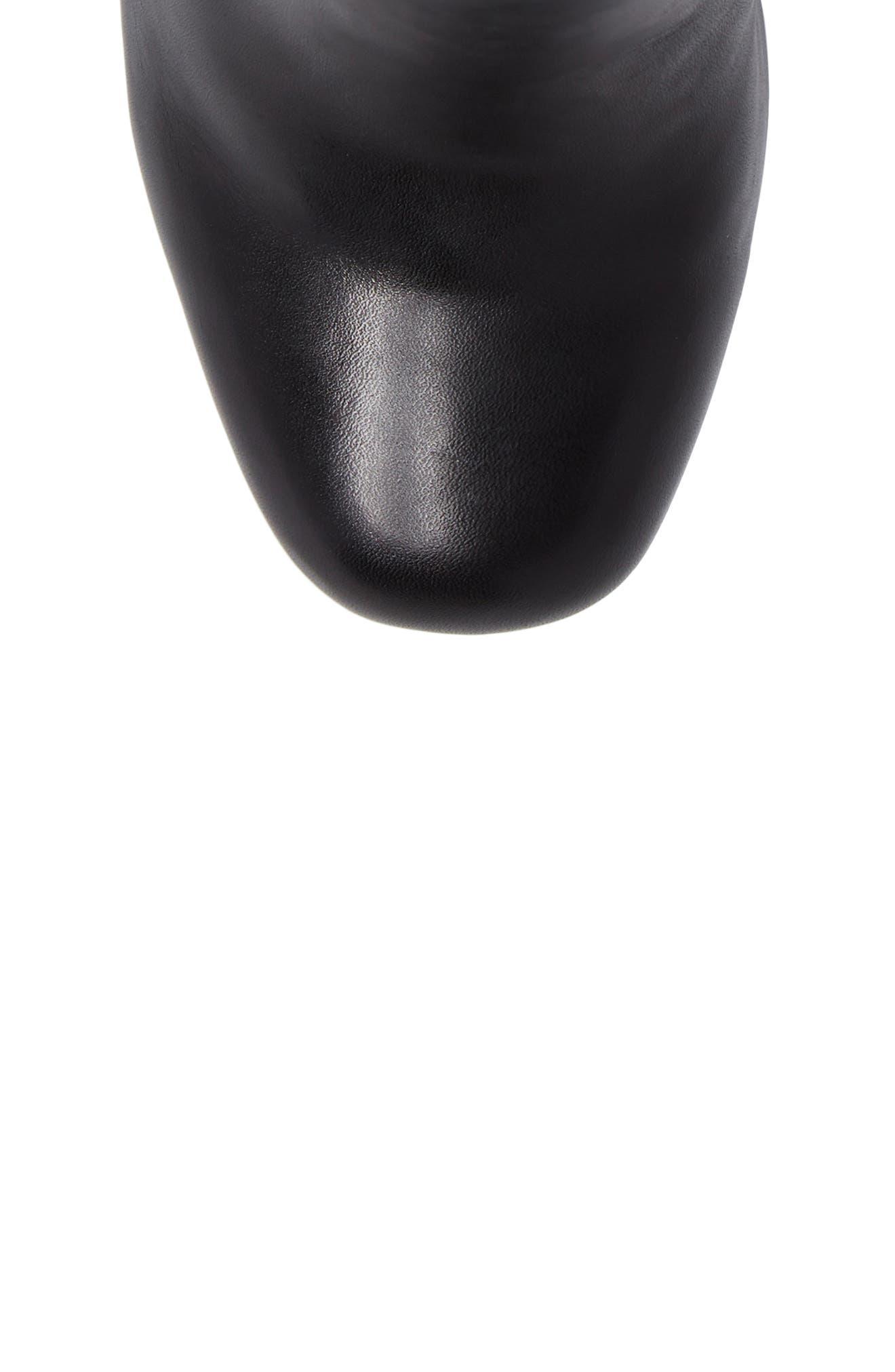 Sebille Platform Bootie,                             Alternate thumbnail 5, color,                             BLACK1 LEATHER