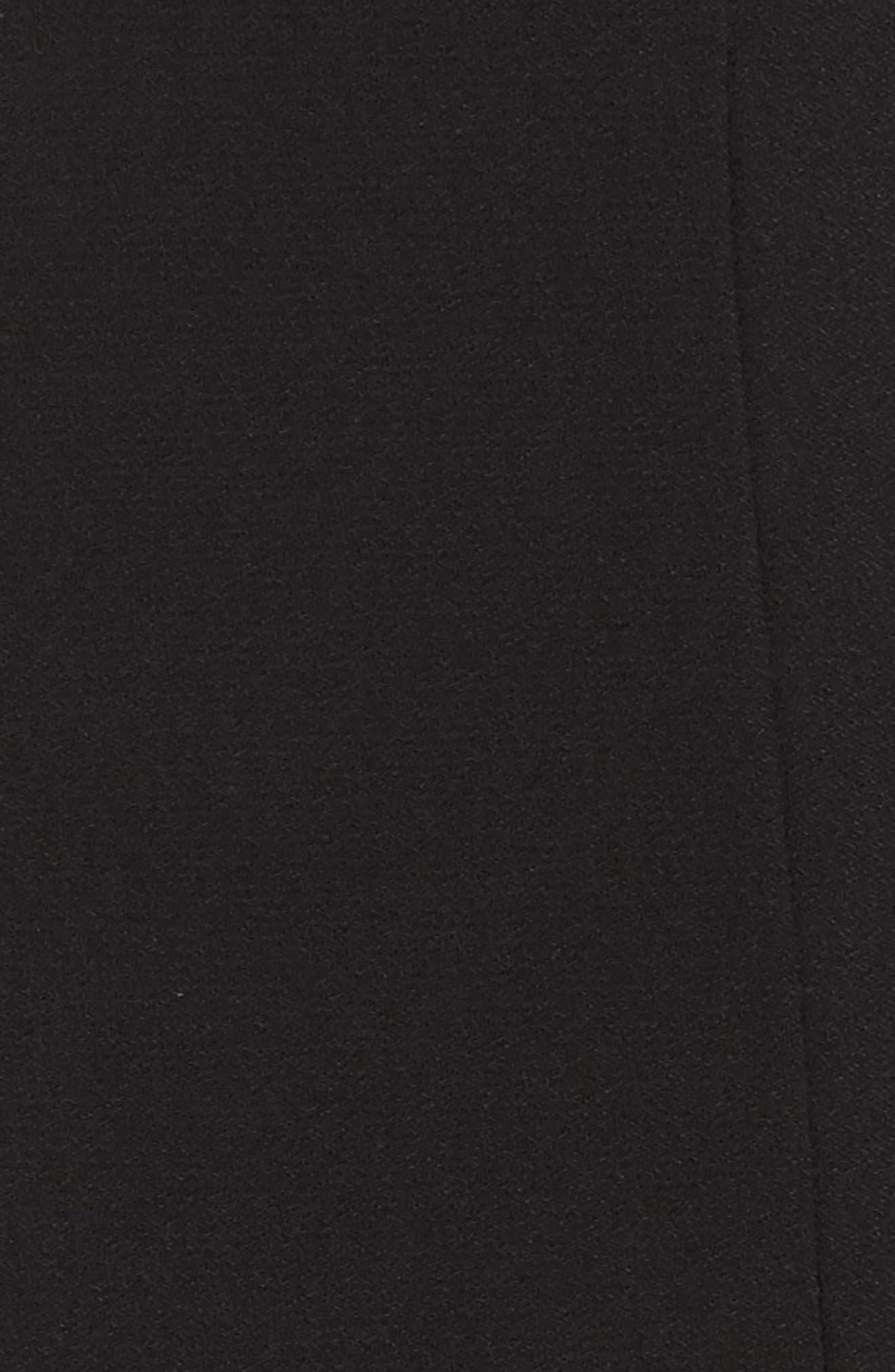 Off the Shoulder Sheath Dress,                             Alternate thumbnail 5, color,                             001