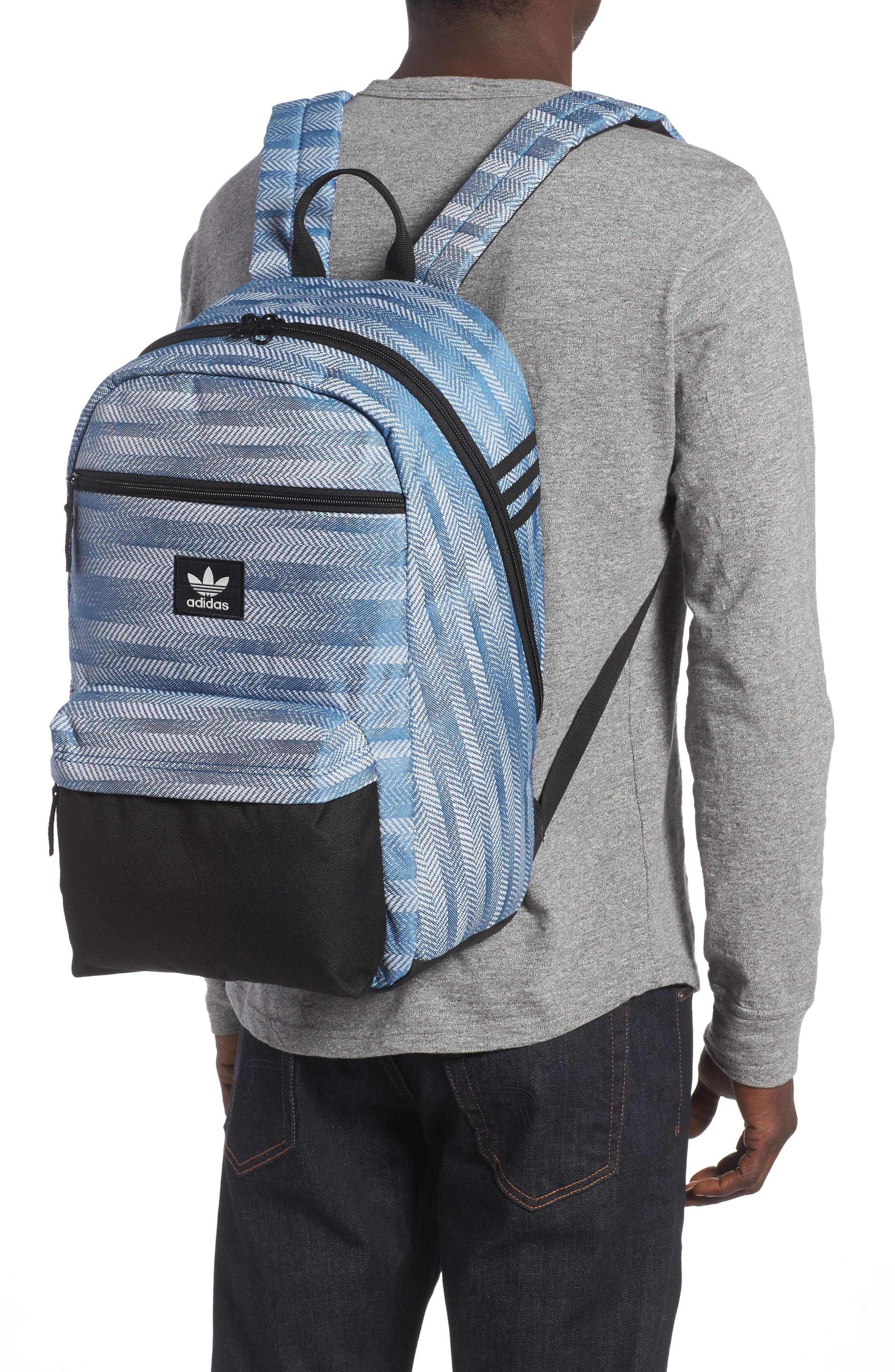 NTL Plus Backpack,                             Alternate thumbnail 2, color,                             CORE BLUE/ BLACK