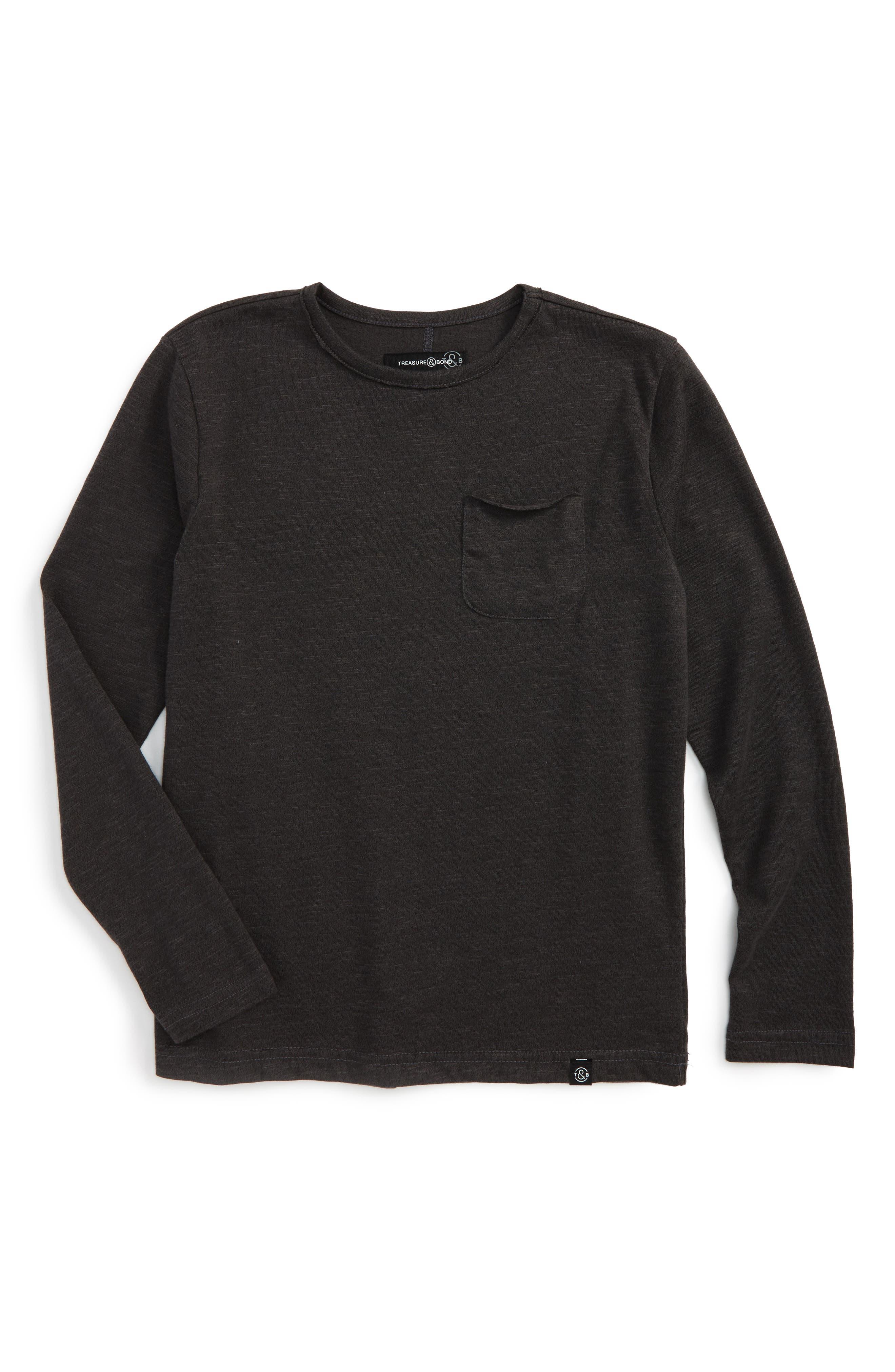 Pocket T-Shirt,                         Main,                         color, 021