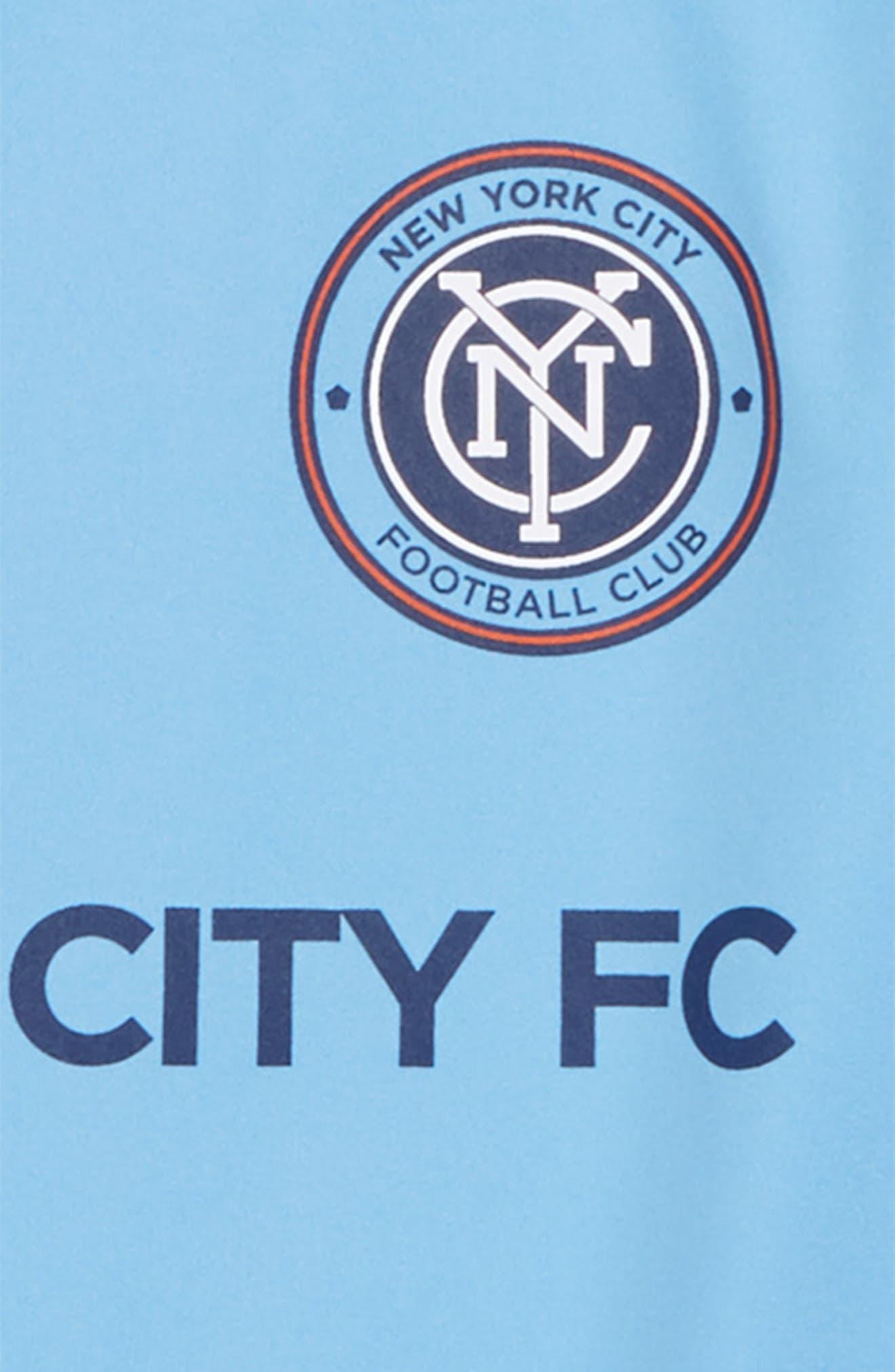 ADIDAS,                             MLS New York City FC Primary Logo Graphic T-Shirt,                             Alternate thumbnail 2, color,                             400