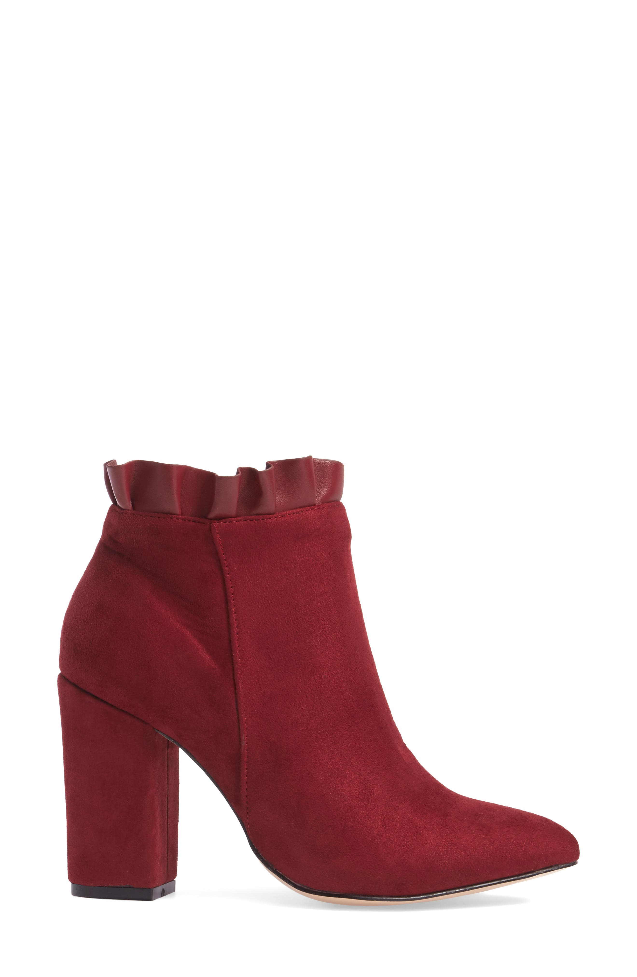 Katana Pointy Toe Bootie,                             Alternate thumbnail 9, color,