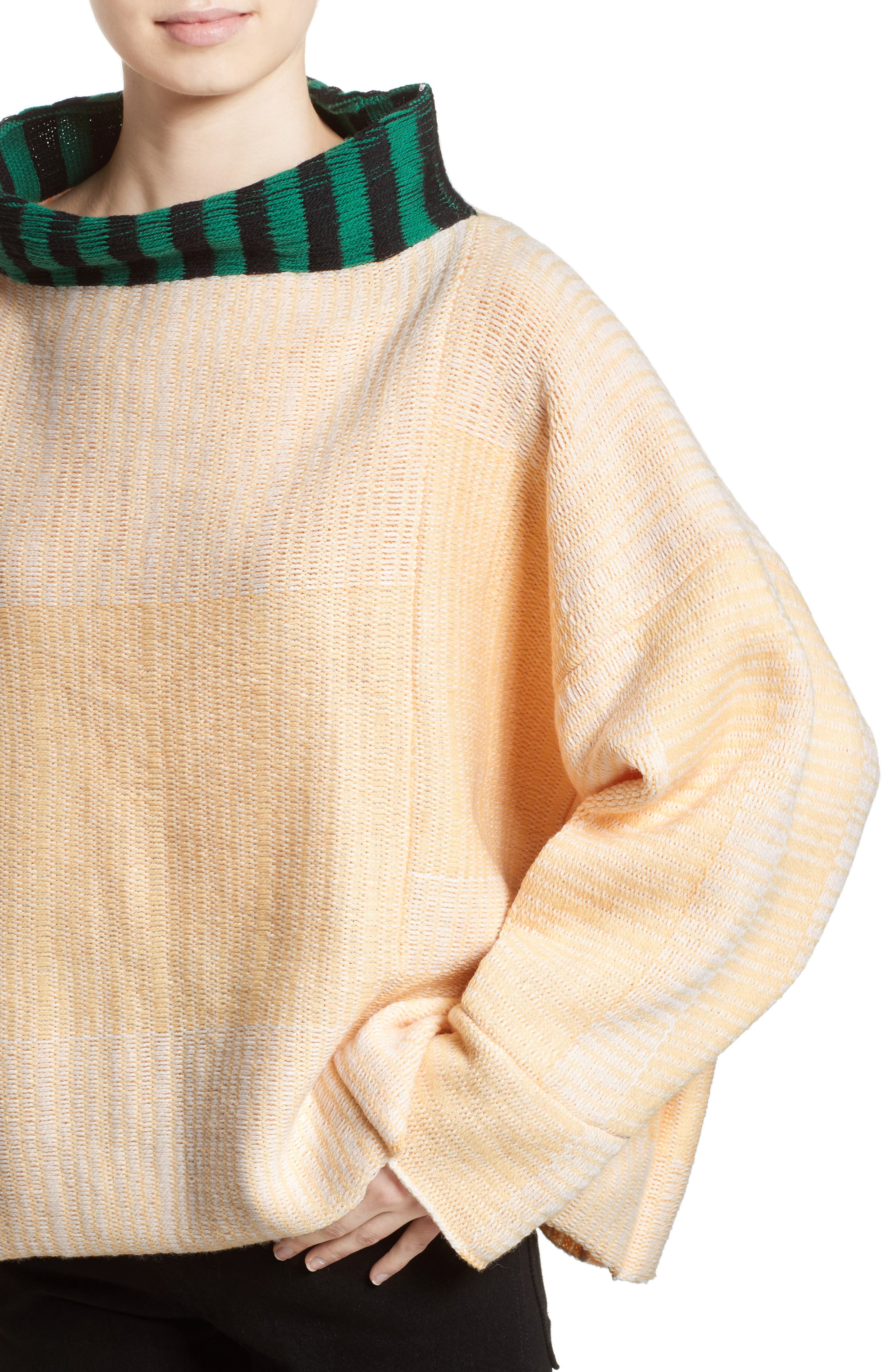 Vented Dolman Sweater,                             Alternate thumbnail 4, color,                             700
