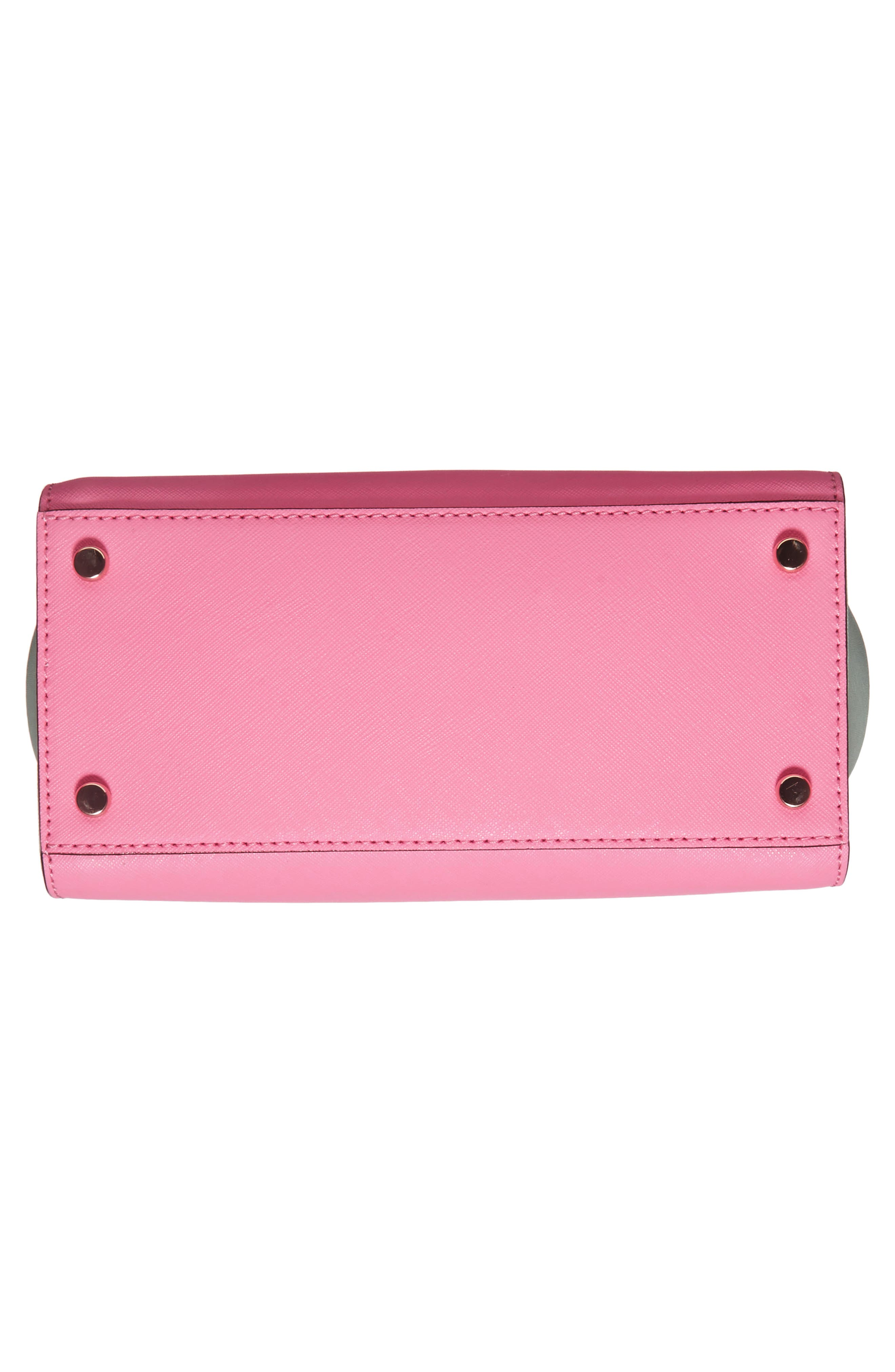 KATE SPADE NEW YORK,                             'cameron street - mini candace' leather satchel,                             Alternate thumbnail 6, color,                             690