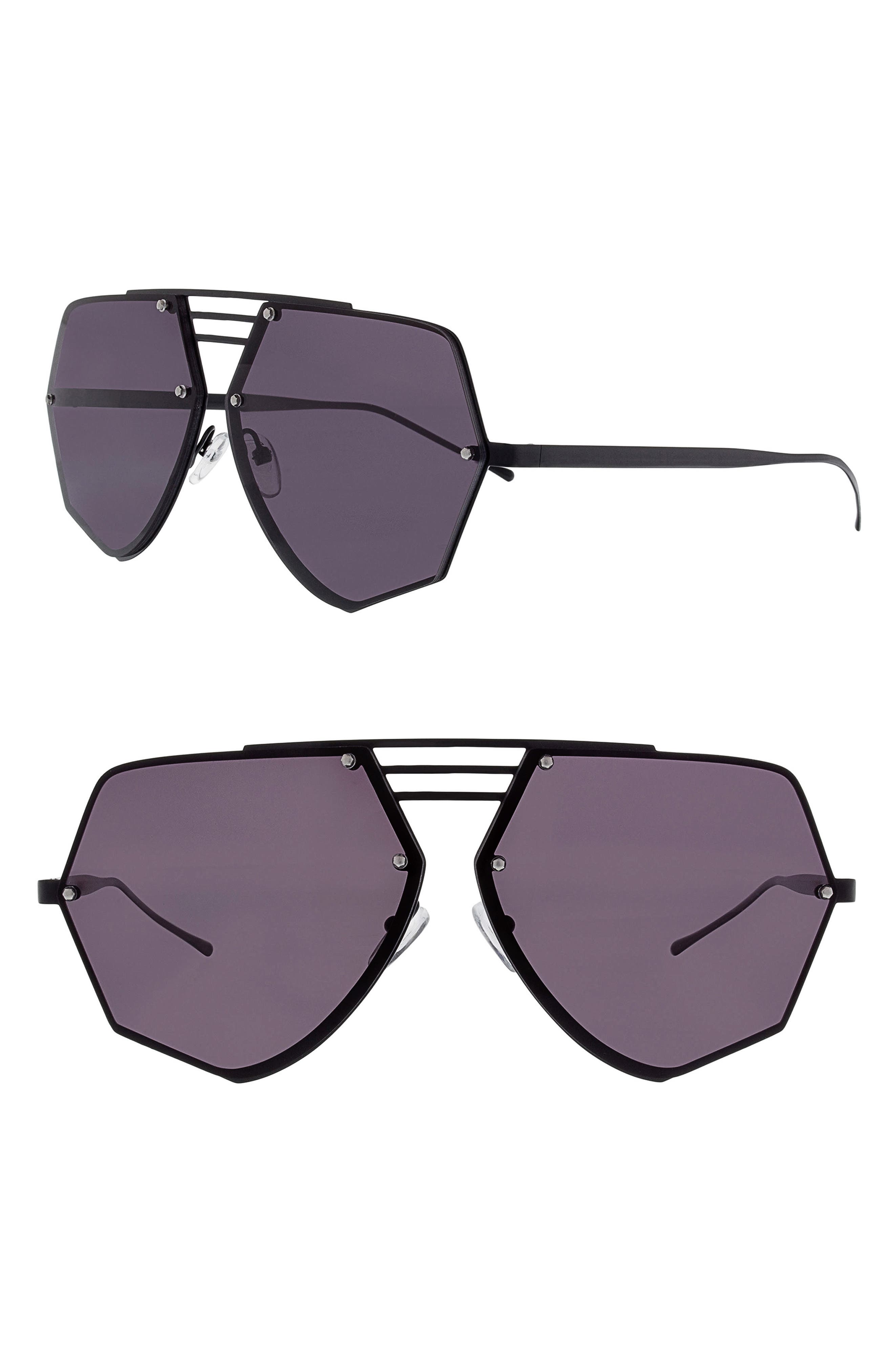 Geo 8 60mm Sunglasses,                             Main thumbnail 1, color,                             040