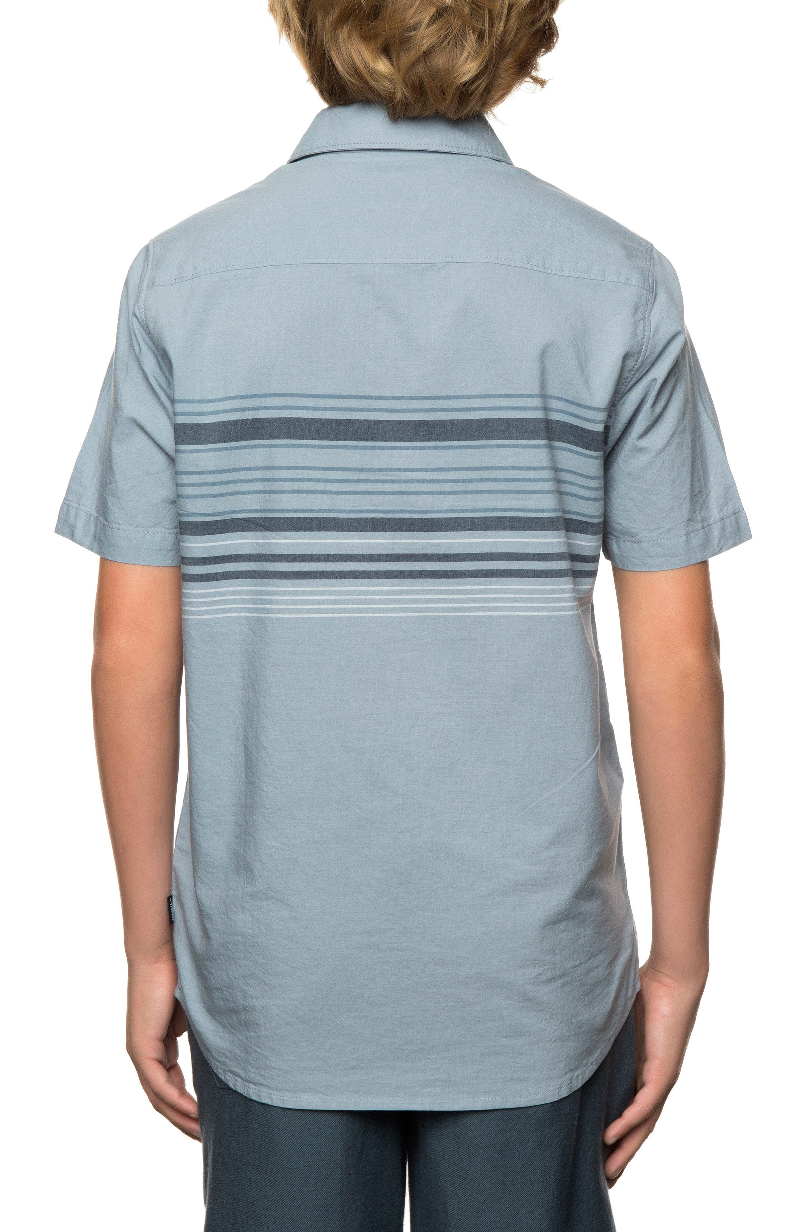 Serf Striped Woven Shirt,                             Alternate thumbnail 8, color,