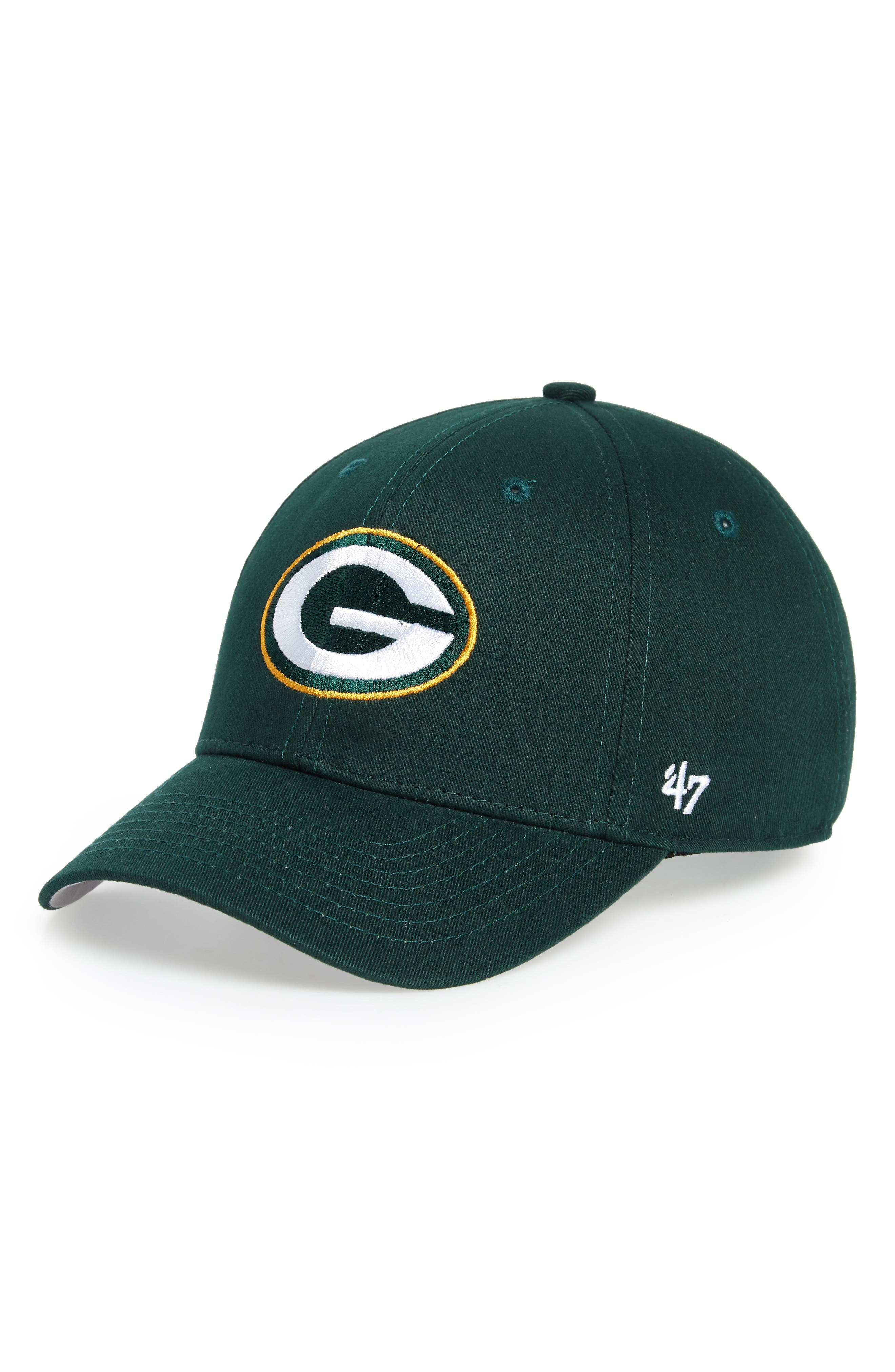 Boys 47 Nfl Mvp Green Bay Packers Baseball Cap