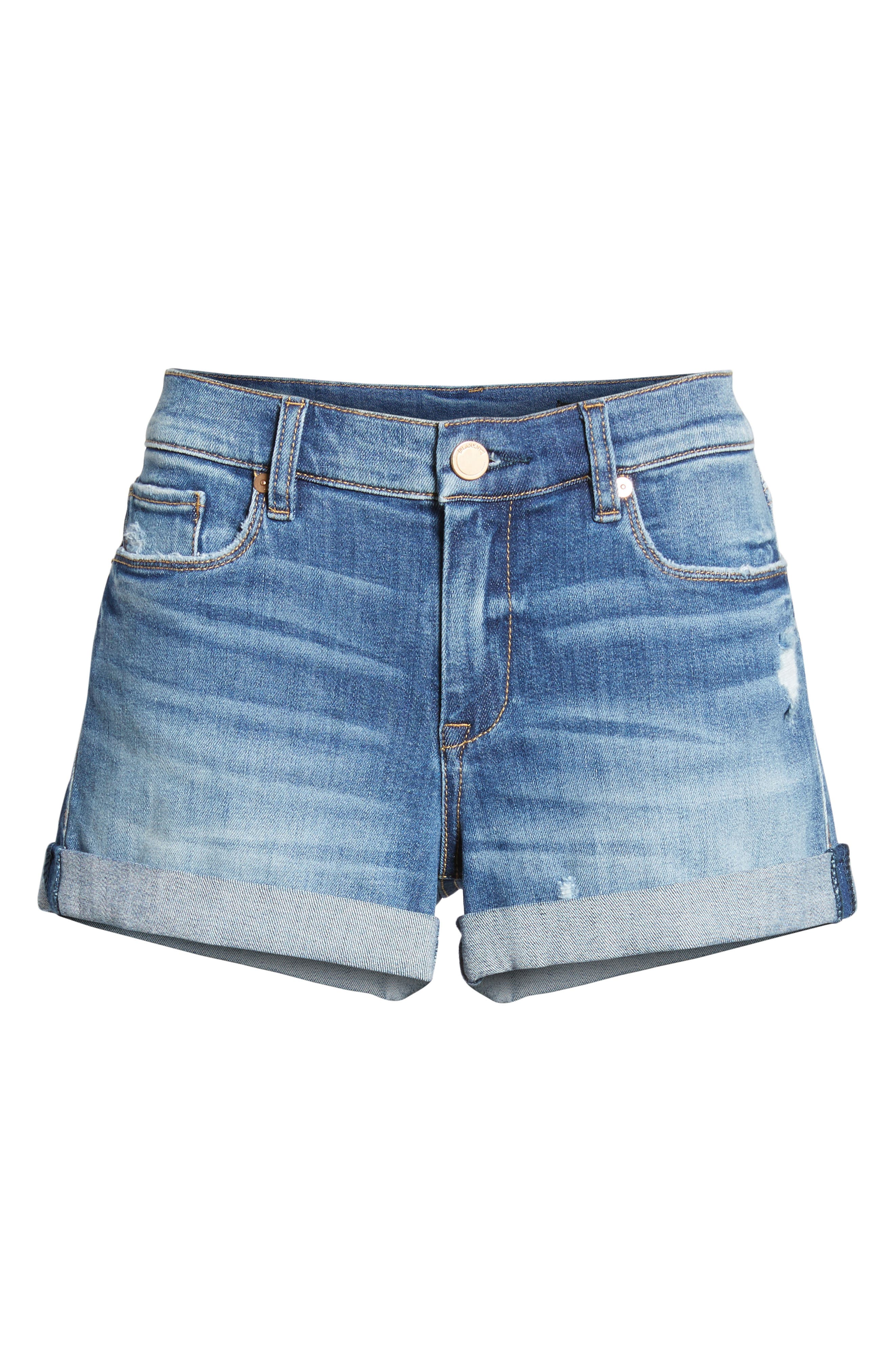 The Fulton Cuffed Denim Shorts,                             Alternate thumbnail 7, color,                             400
