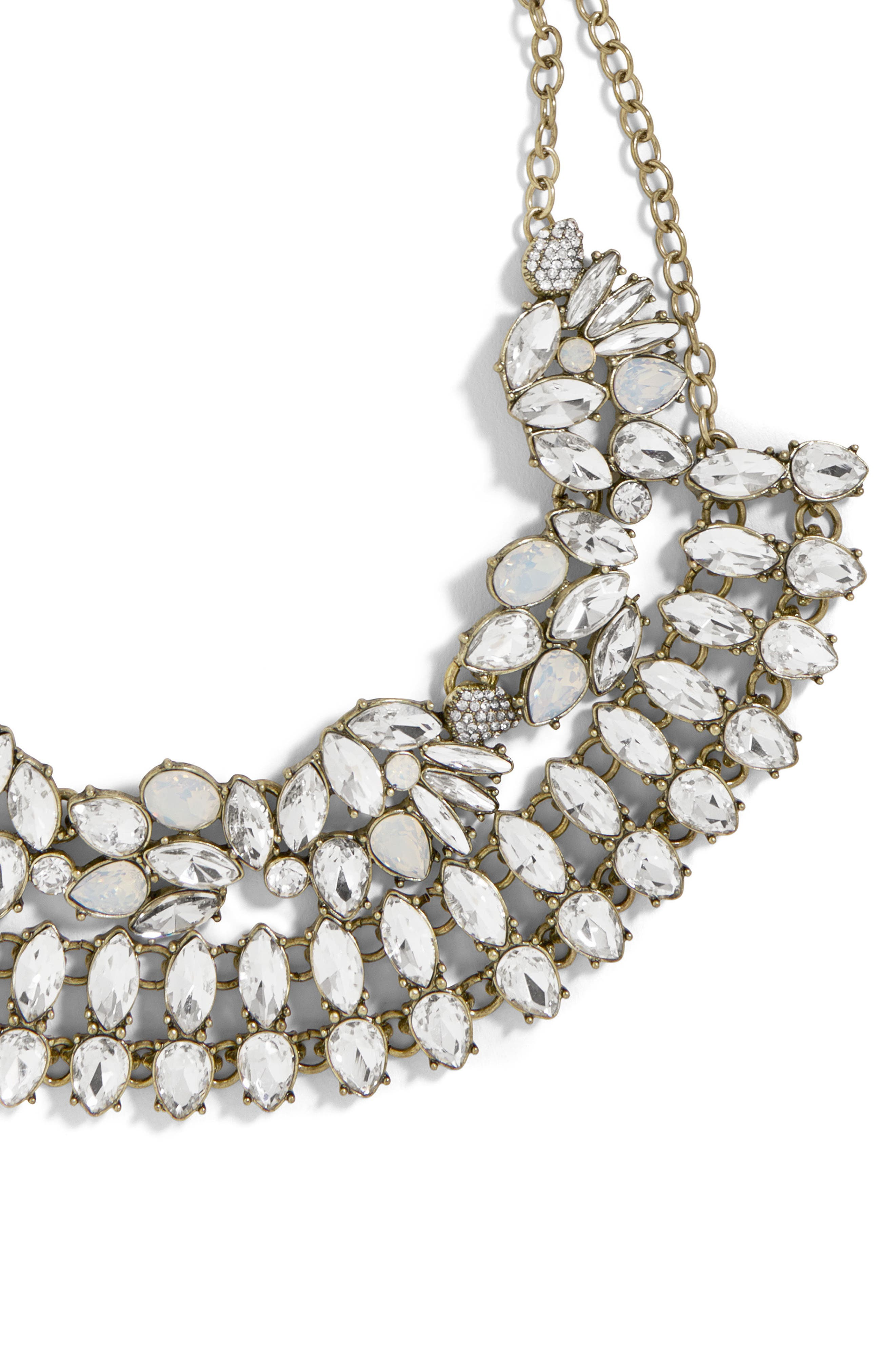 Evangeline Crystal Statement Necklace,                             Alternate thumbnail 2, color,                             040