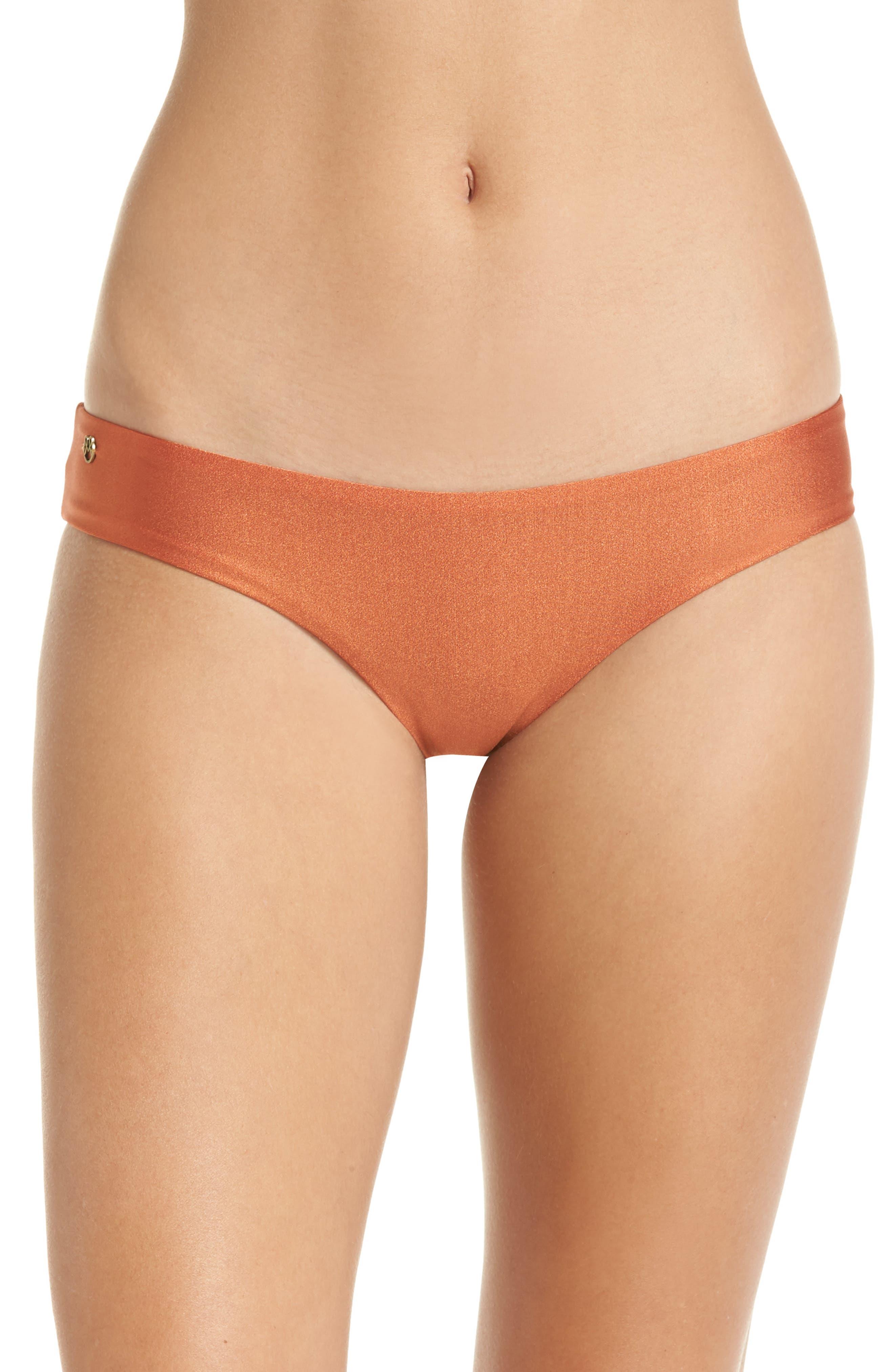 Shimmering Sublime Signature Reversible Bikini Bottoms,                         Main,                         color, 221