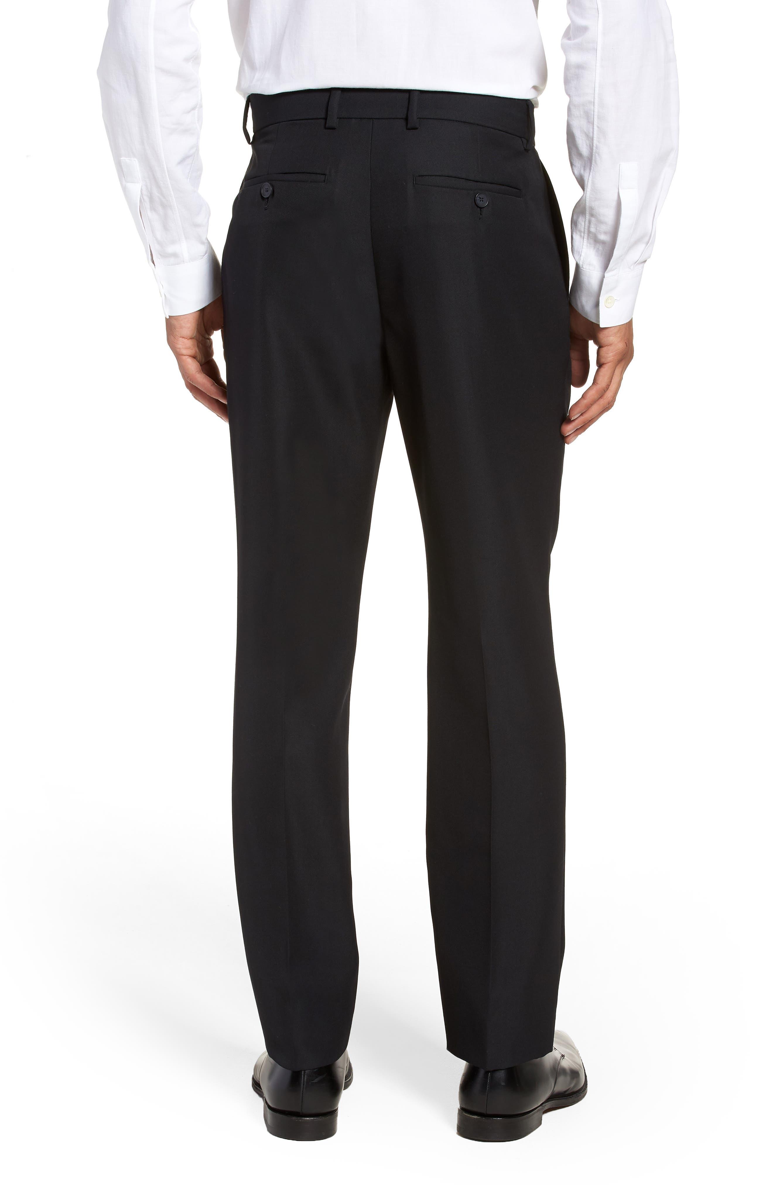 Classic Slim Fit Trousers,                             Alternate thumbnail 2, color,                             400