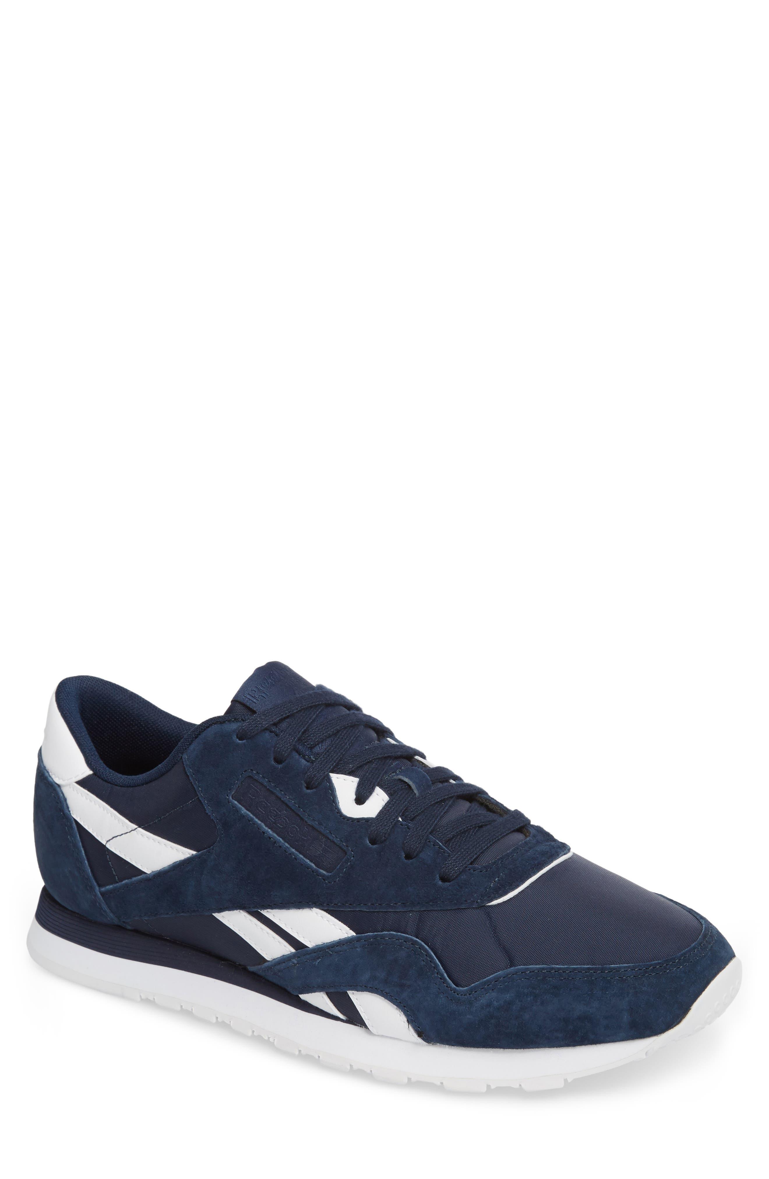 Classic Nylon PN Sneaker,                             Main thumbnail 1, color,                             400