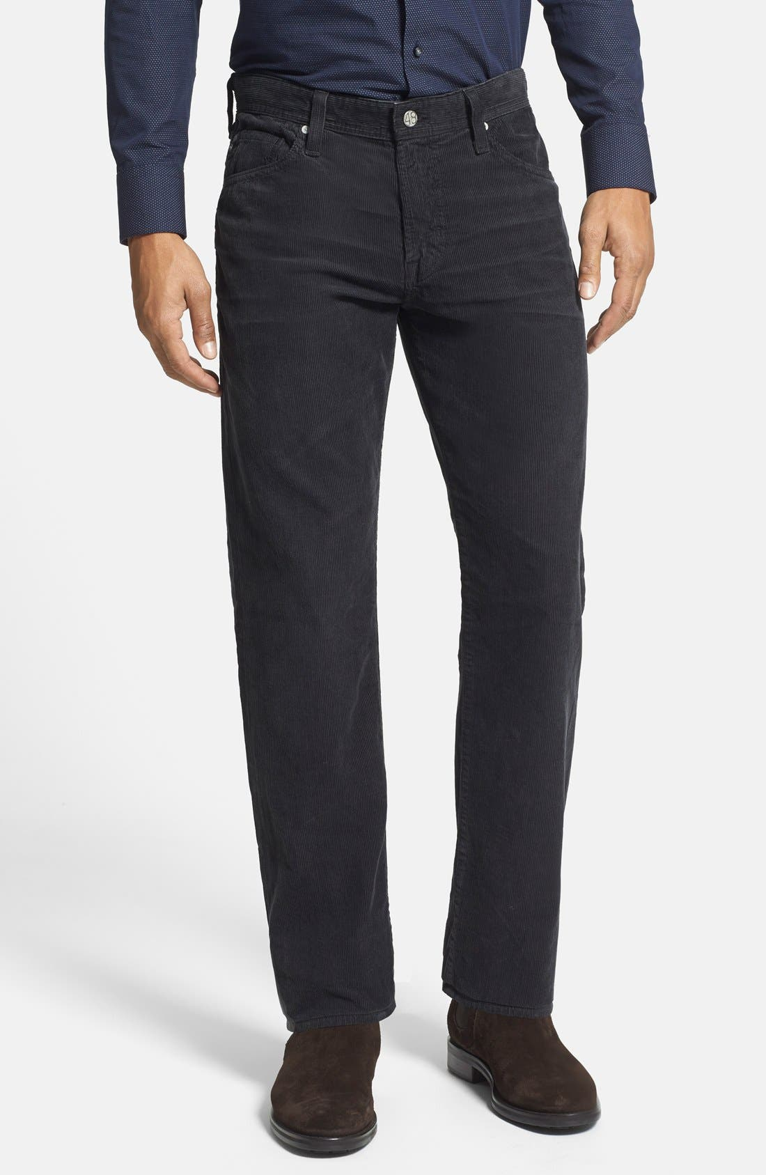 'Graduate' Tailored Straight Leg Corduroy Pants,                             Main thumbnail 5, color,