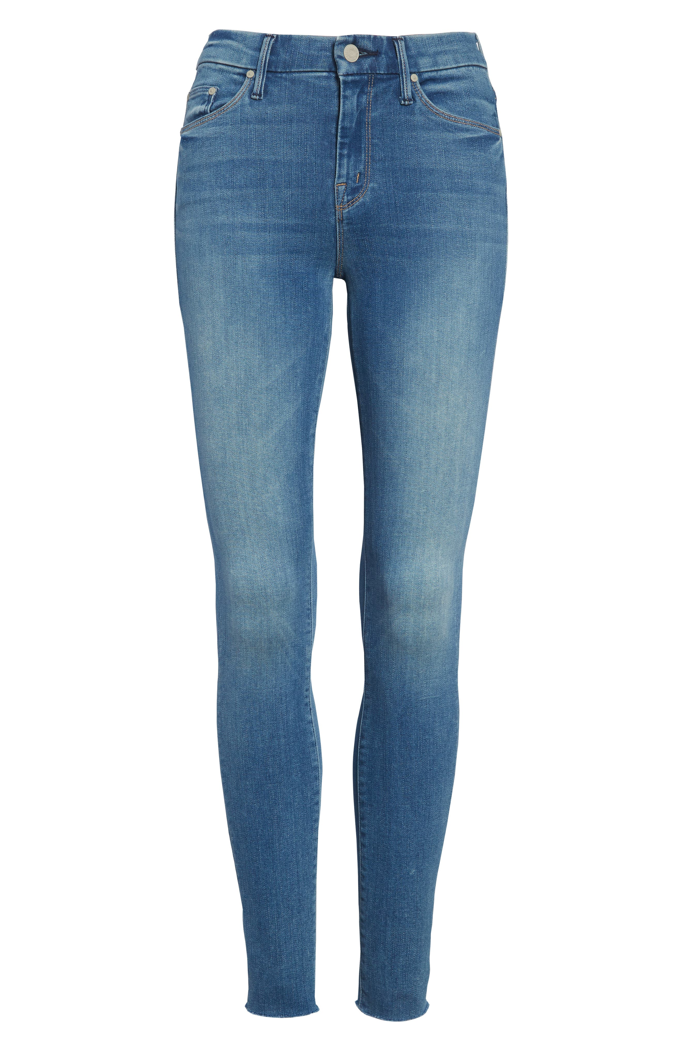 'The Looker' Fray Ankle Jeans,                         Main,                         color, 420