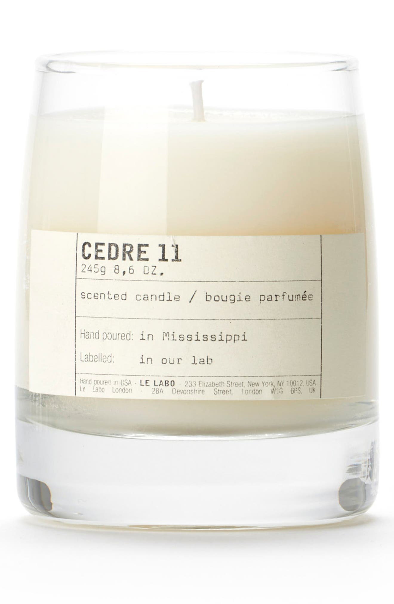 'Cedre 11' Classic Candle,                             Alternate thumbnail 2, color,                             000