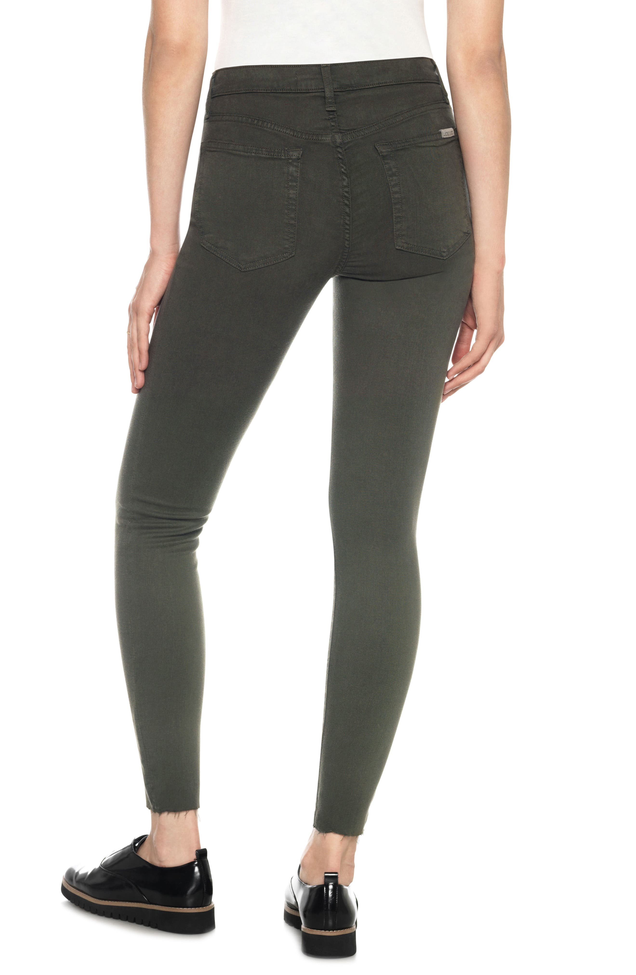 Charlie High Rise Ankle Skinny Jeans,                             Alternate thumbnail 2, color,                             341