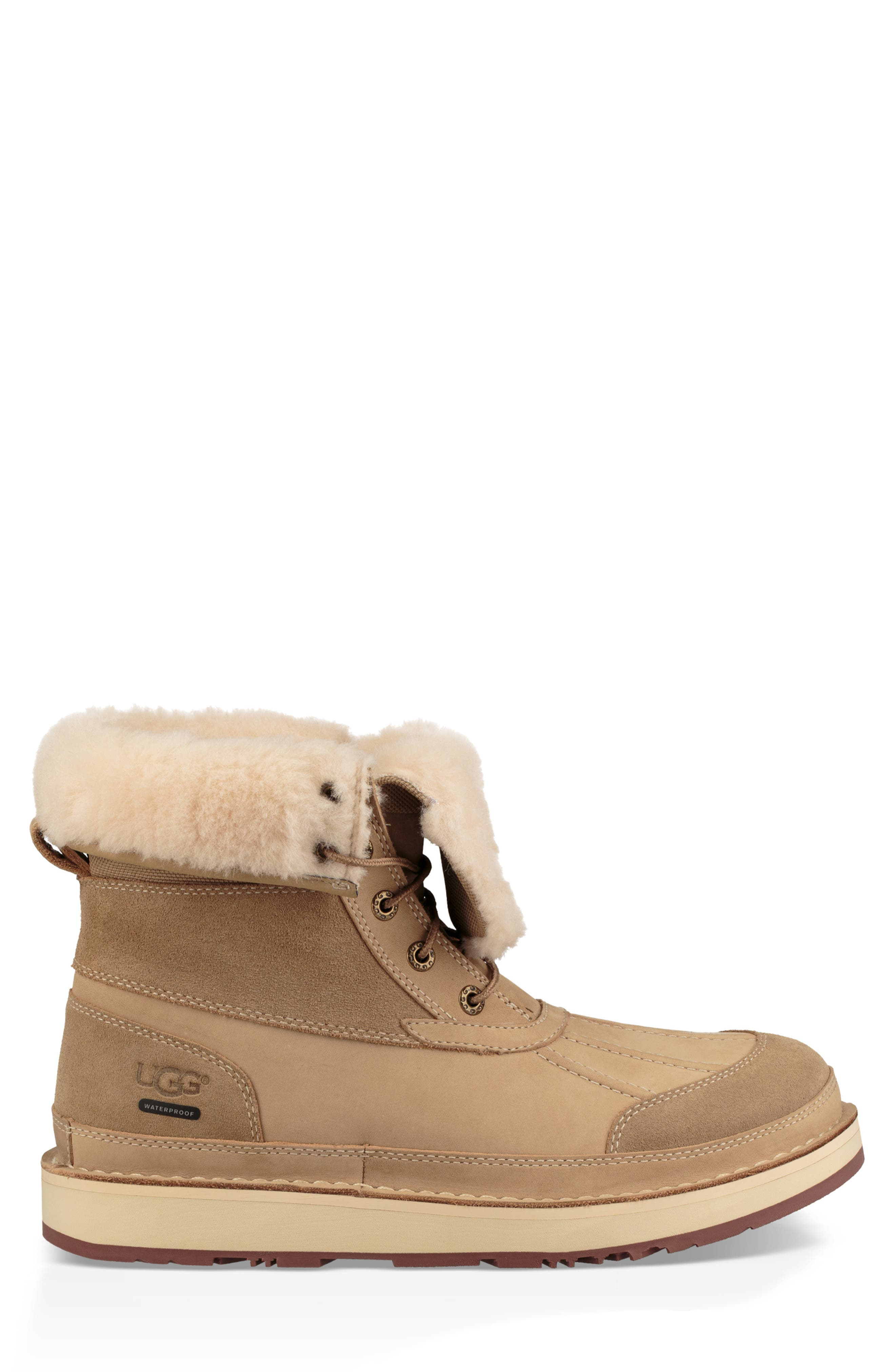 Avalanche Butte Waterproof Boot,                             Alternate thumbnail 11, color,                             DESERT TAN