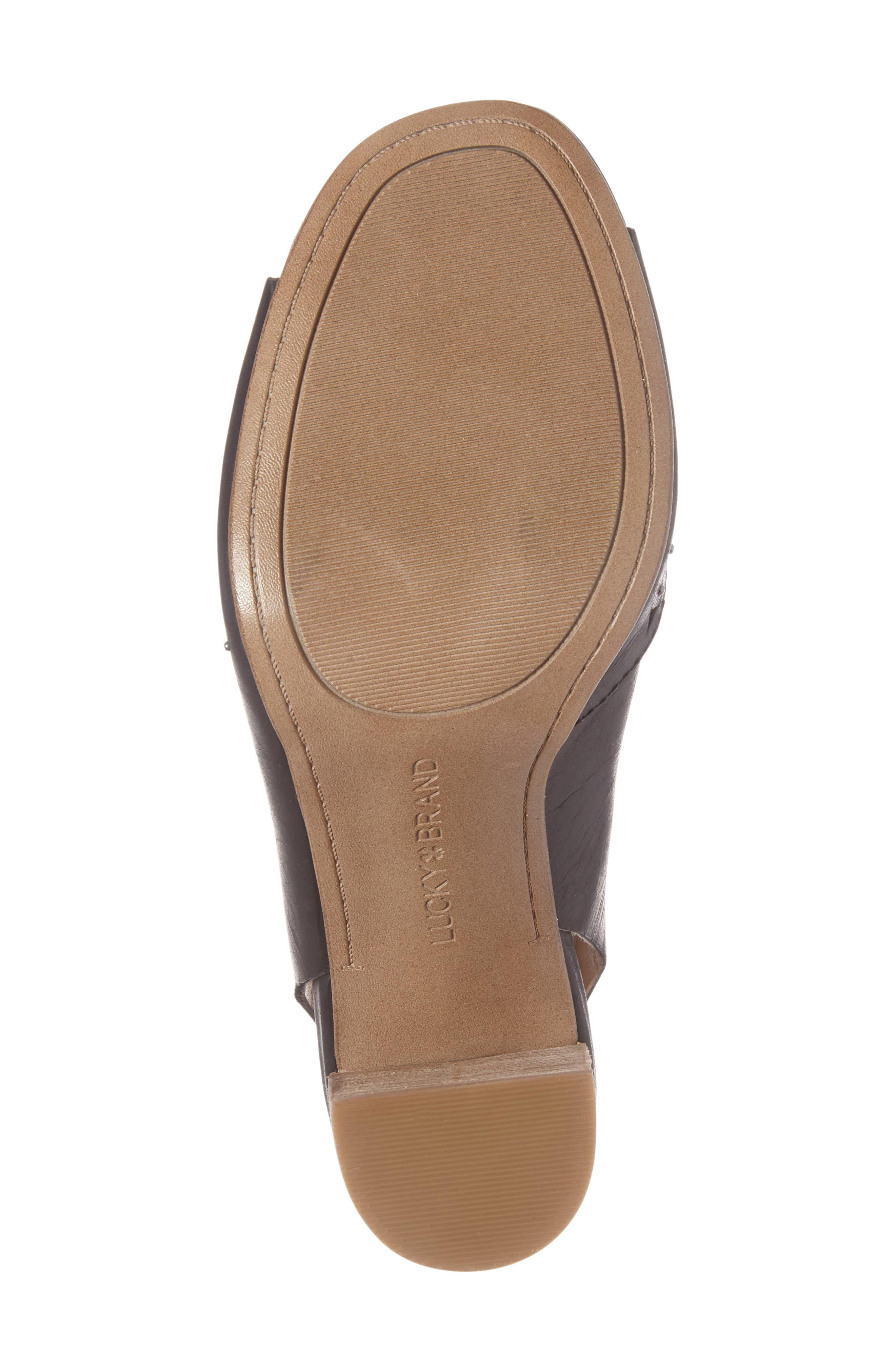 Tafia Lace-Up Sandal,                             Alternate thumbnail 4, color,                             001