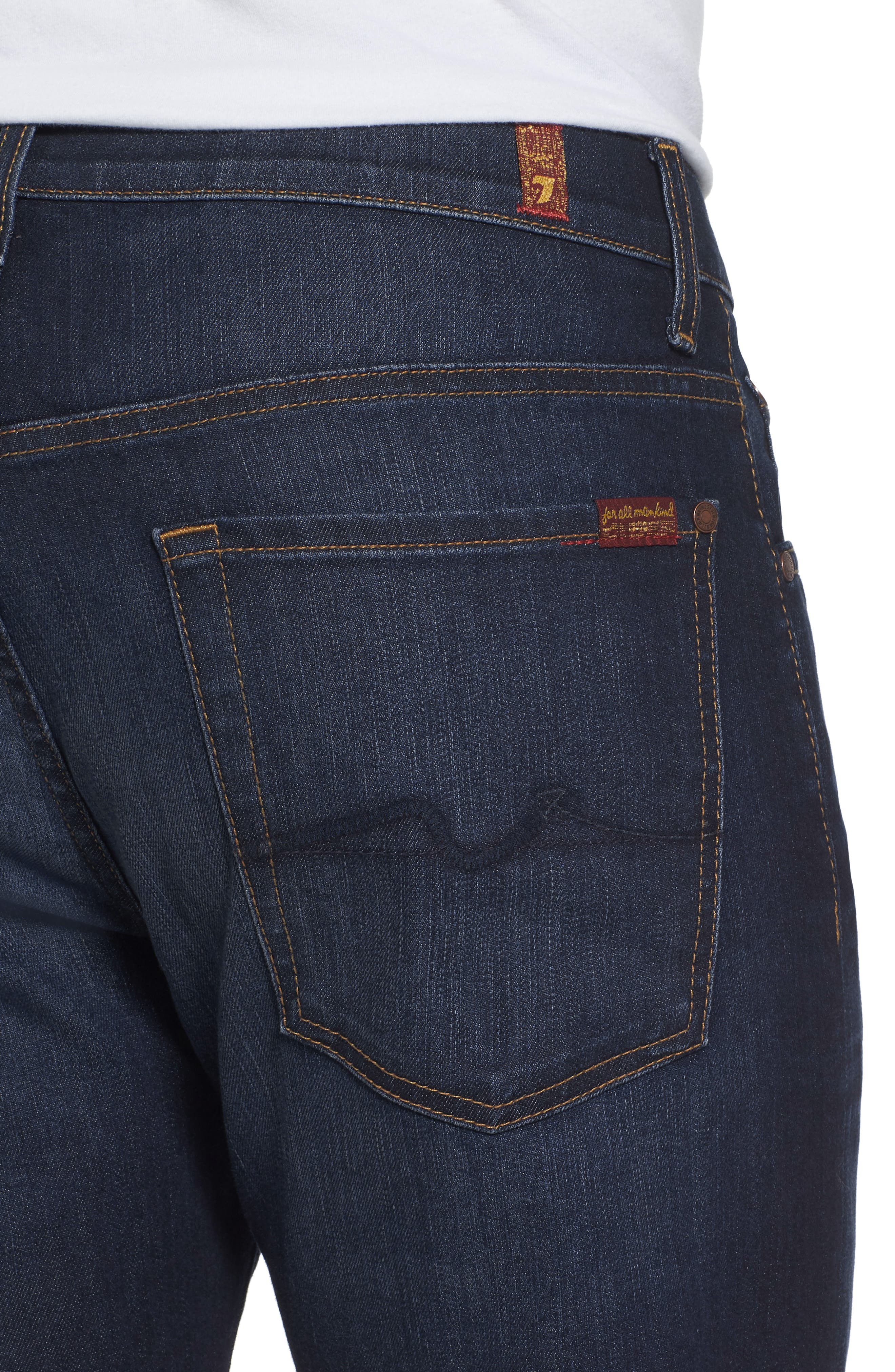 Airweft Austyn Relaxed Straight Leg Jeans,                             Alternate thumbnail 4, color,                             400