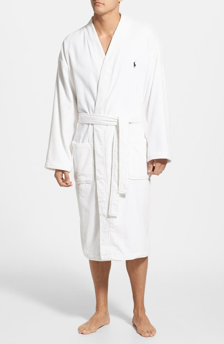 3974ca2f7f Polo Ralph Lauren Cotton Fleece Robe