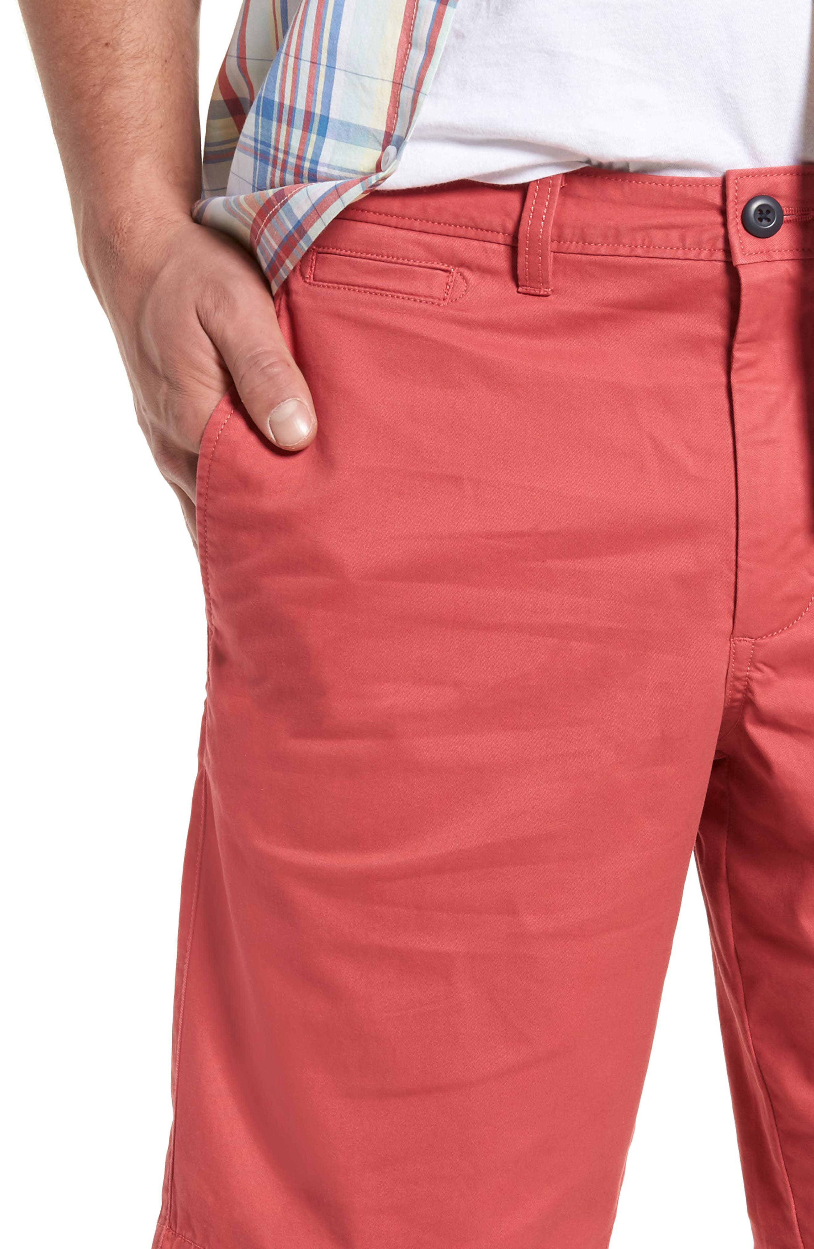 Ballard Slim Fit Stretch Chino 11-Inch Shorts,                             Alternate thumbnail 62, color,