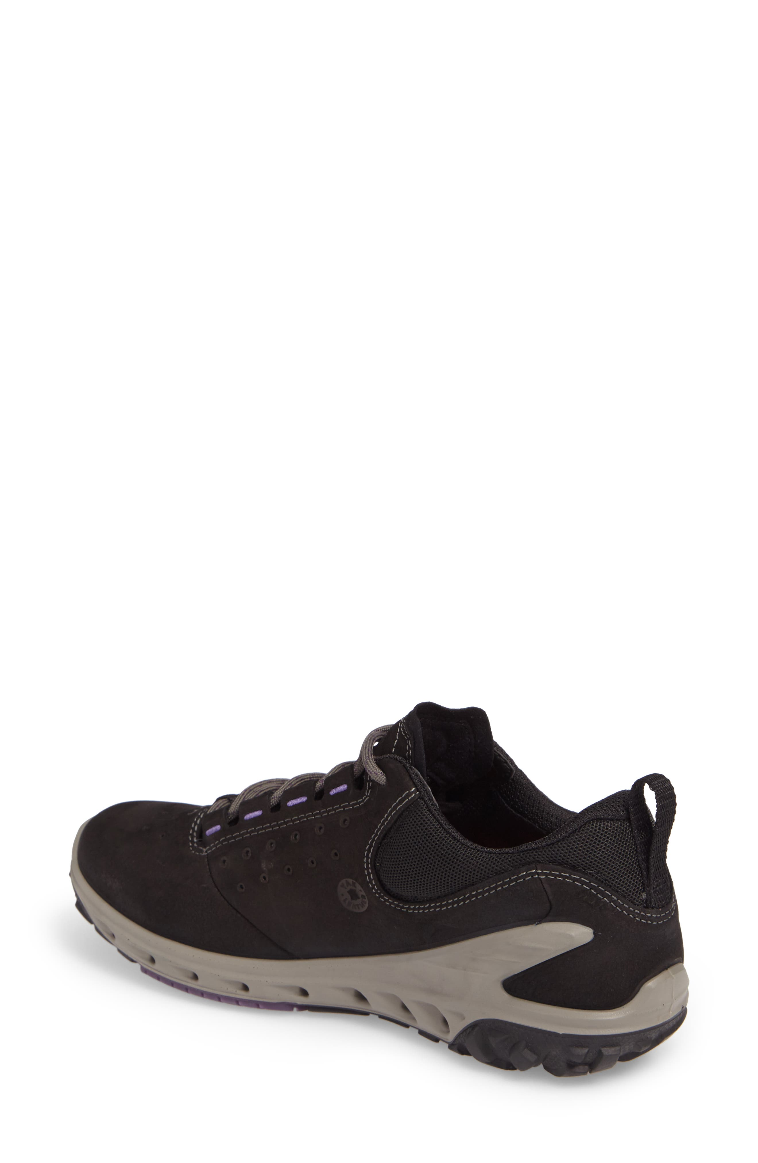 BIOM Venture GTX Sneaker,                             Alternate thumbnail 2, color,                             BLACK LEATHER