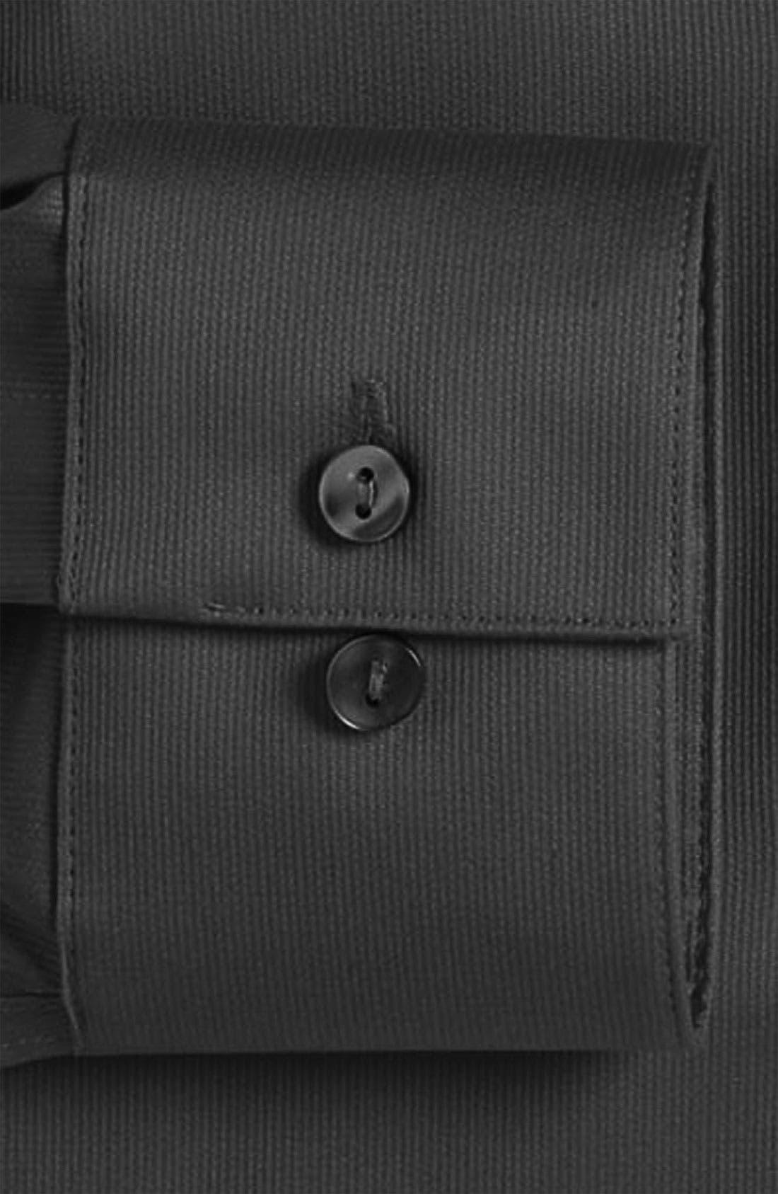 Slim Fit Non-Iron Dress Shirt,                             Alternate thumbnail 8, color,