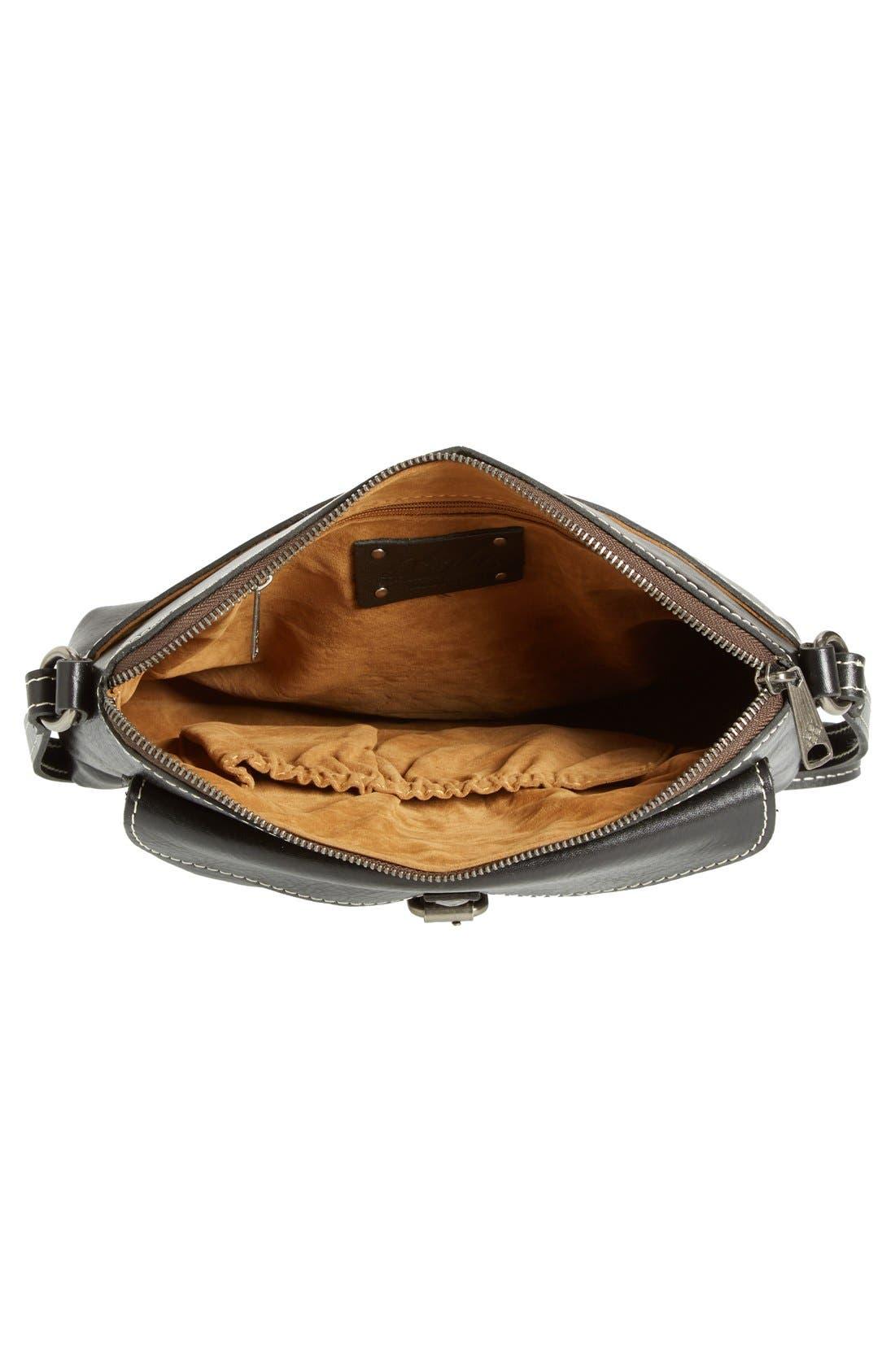 'Avellino' Crossbody Bag,                             Alternate thumbnail 4, color,                             001