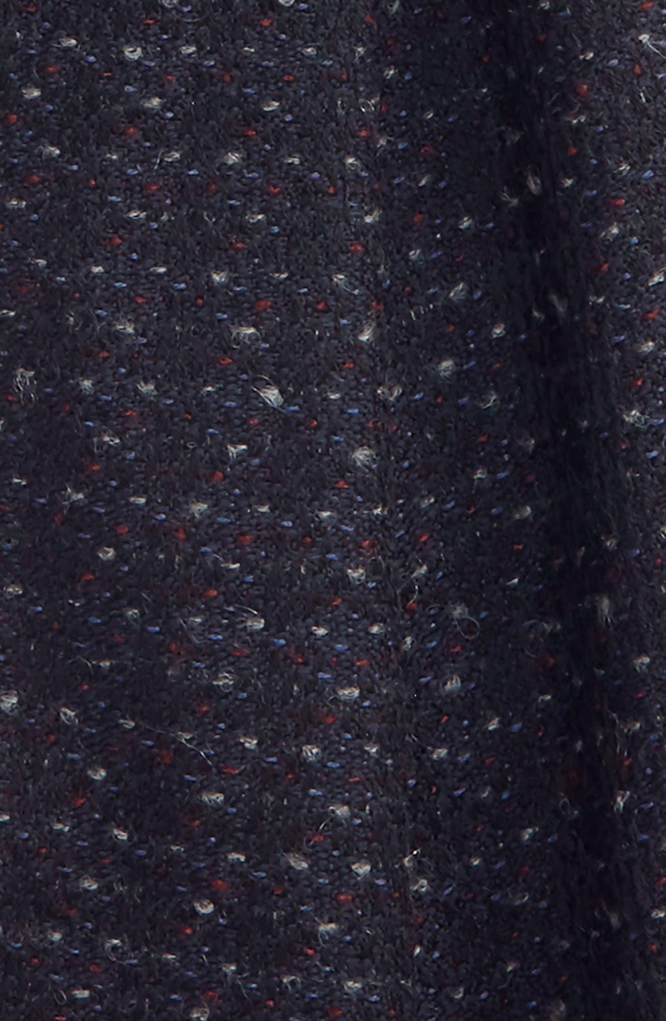 Dot Wool Blend Scarf,                             Alternate thumbnail 3, color,