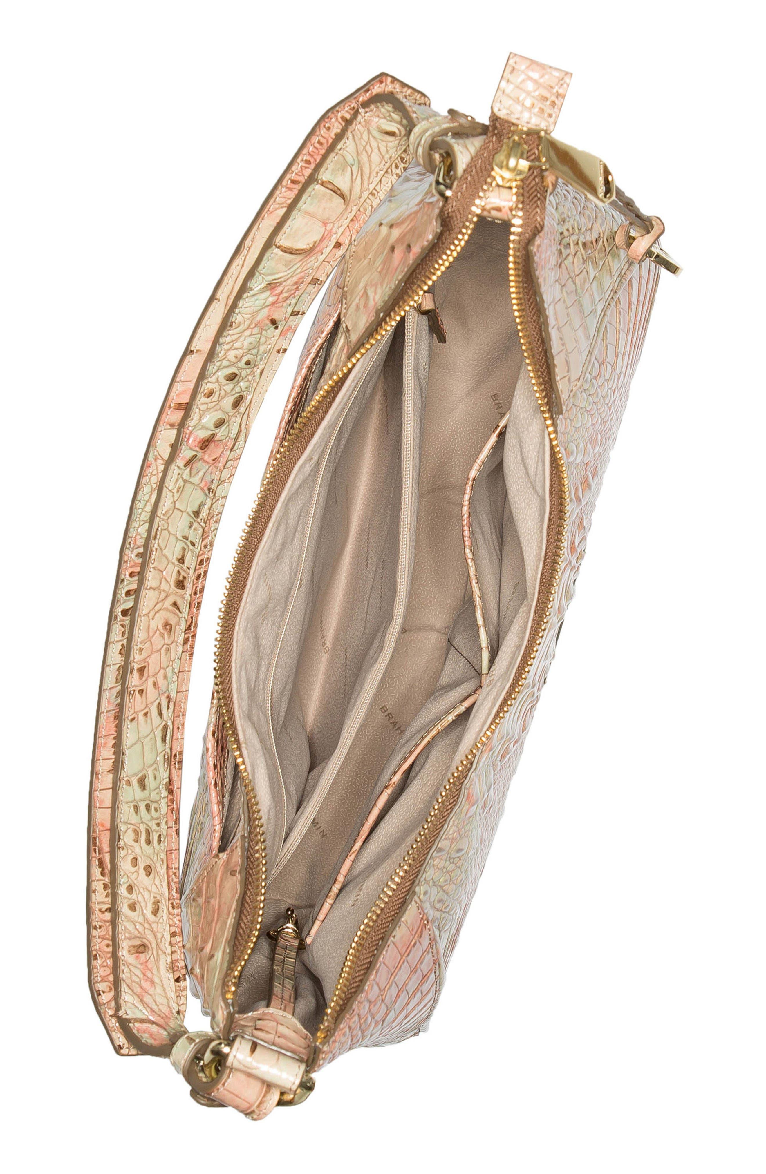 Melbourne Amira Shoulder Bag,                             Alternate thumbnail 3, color,                             SAHARA