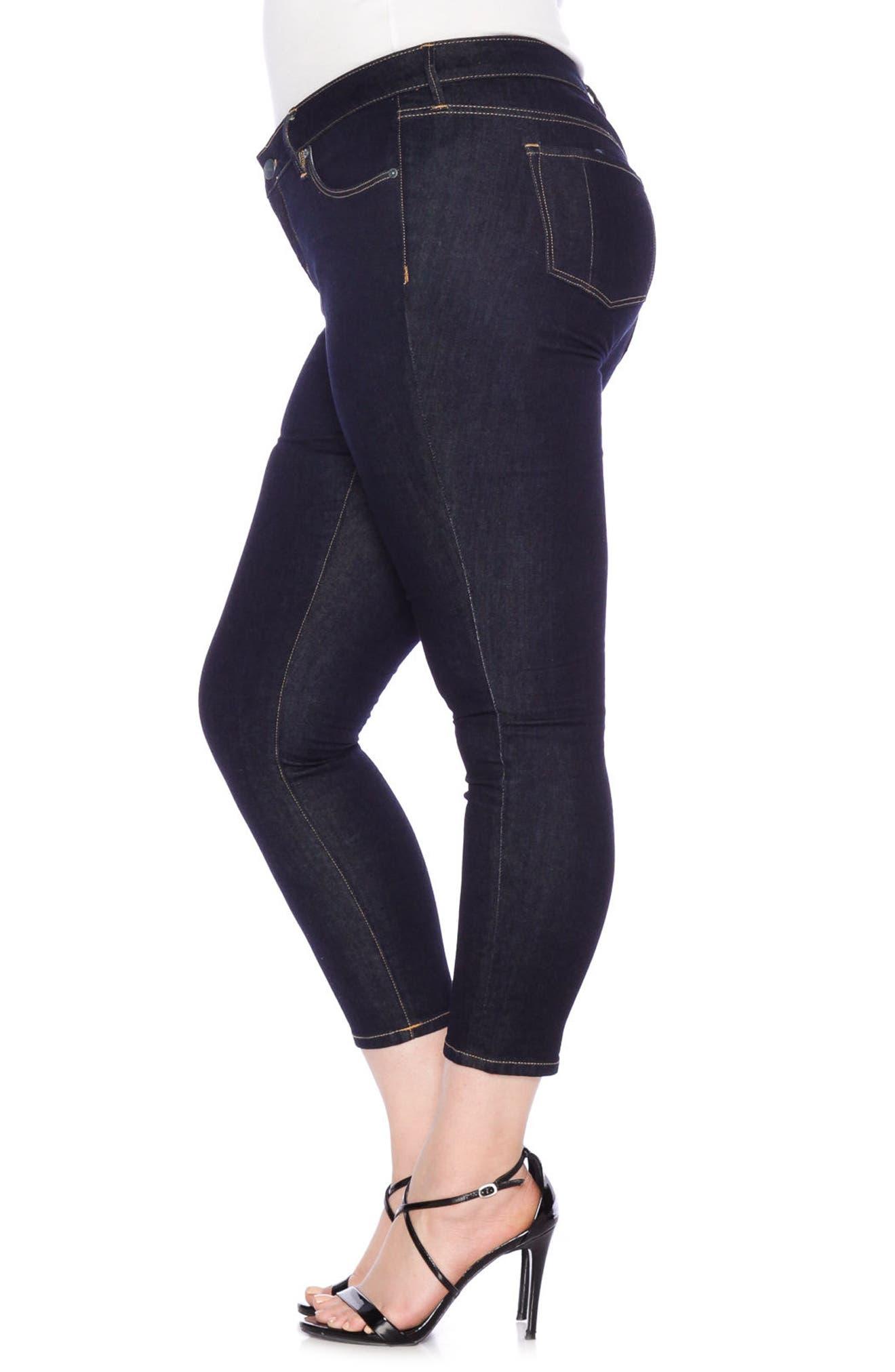 Ankle Skinny Jeans,                             Alternate thumbnail 3, color,                             405