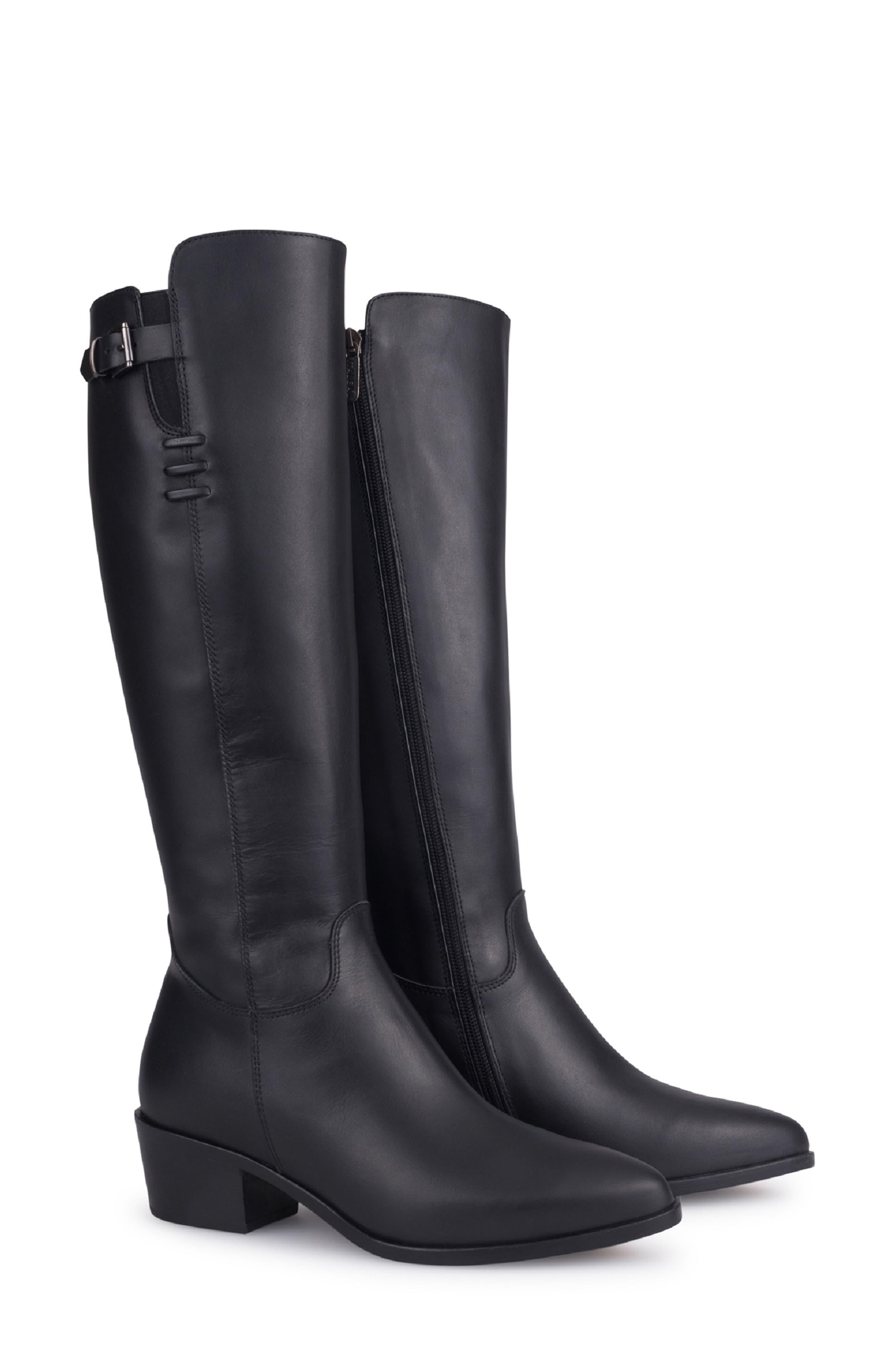 Giacinta Waterproof Knee High Boot,                             Main thumbnail 1, color,                             010