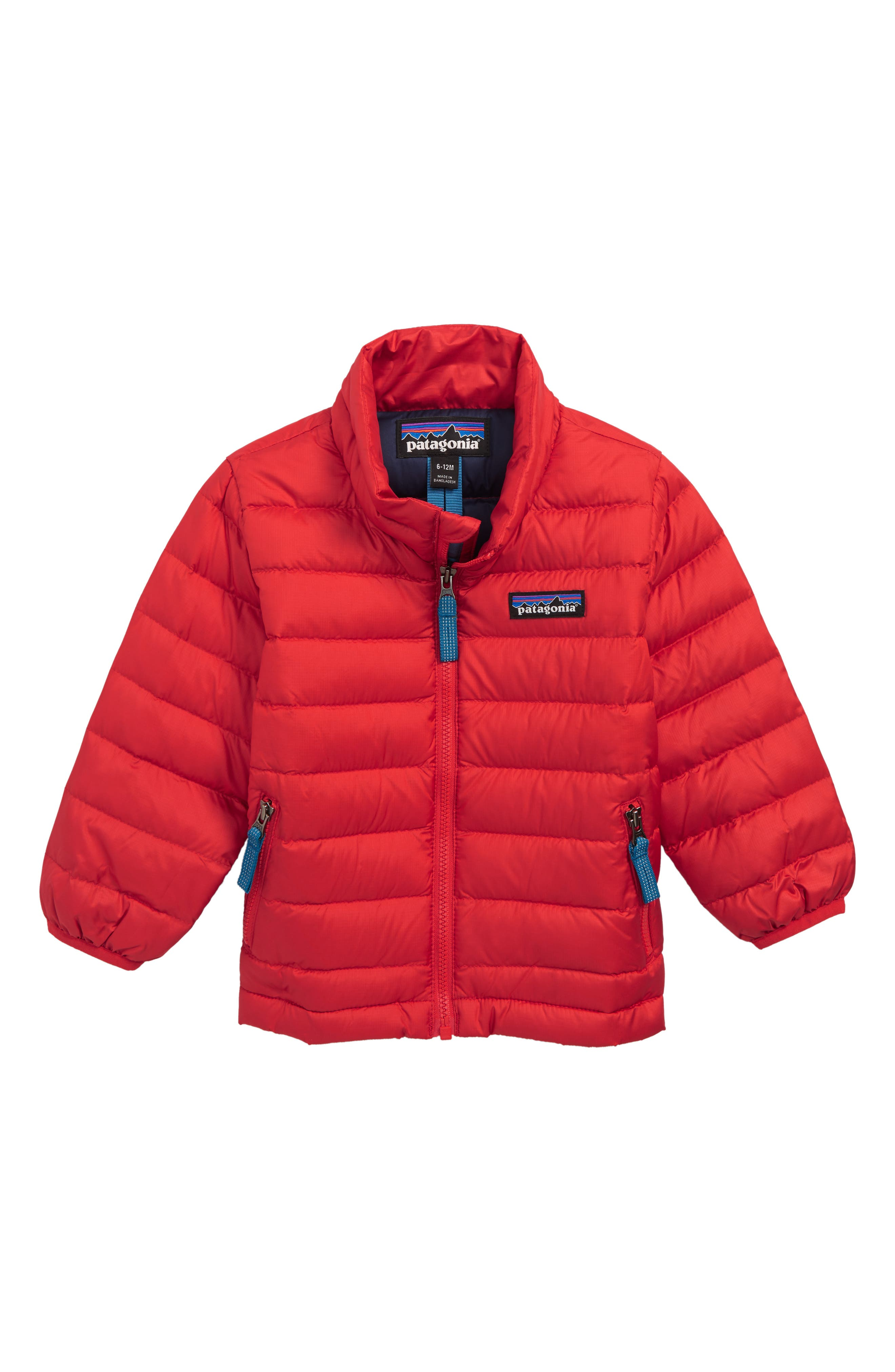 Infant Boys Patagonia Down Sweater Jacket Size 1218M  Red