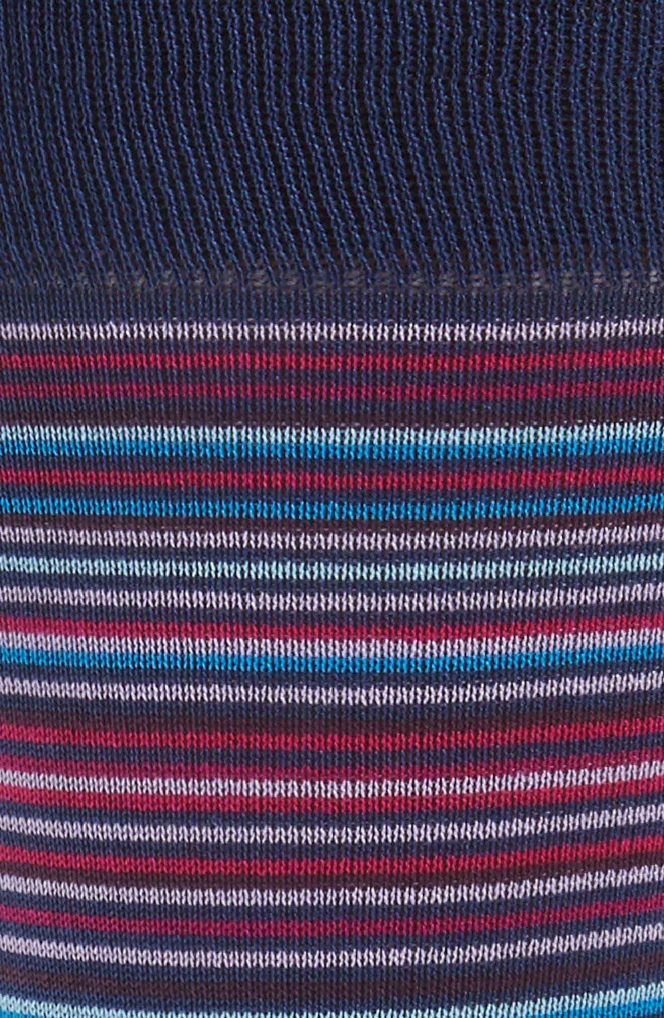 Stripe Crew Socks,                             Alternate thumbnail 5, color,