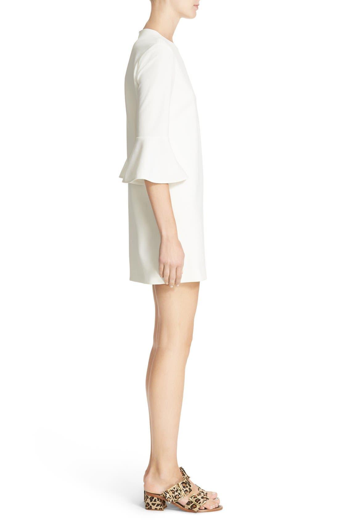 Bell Sleeve Dress,                             Alternate thumbnail 4, color,                             104