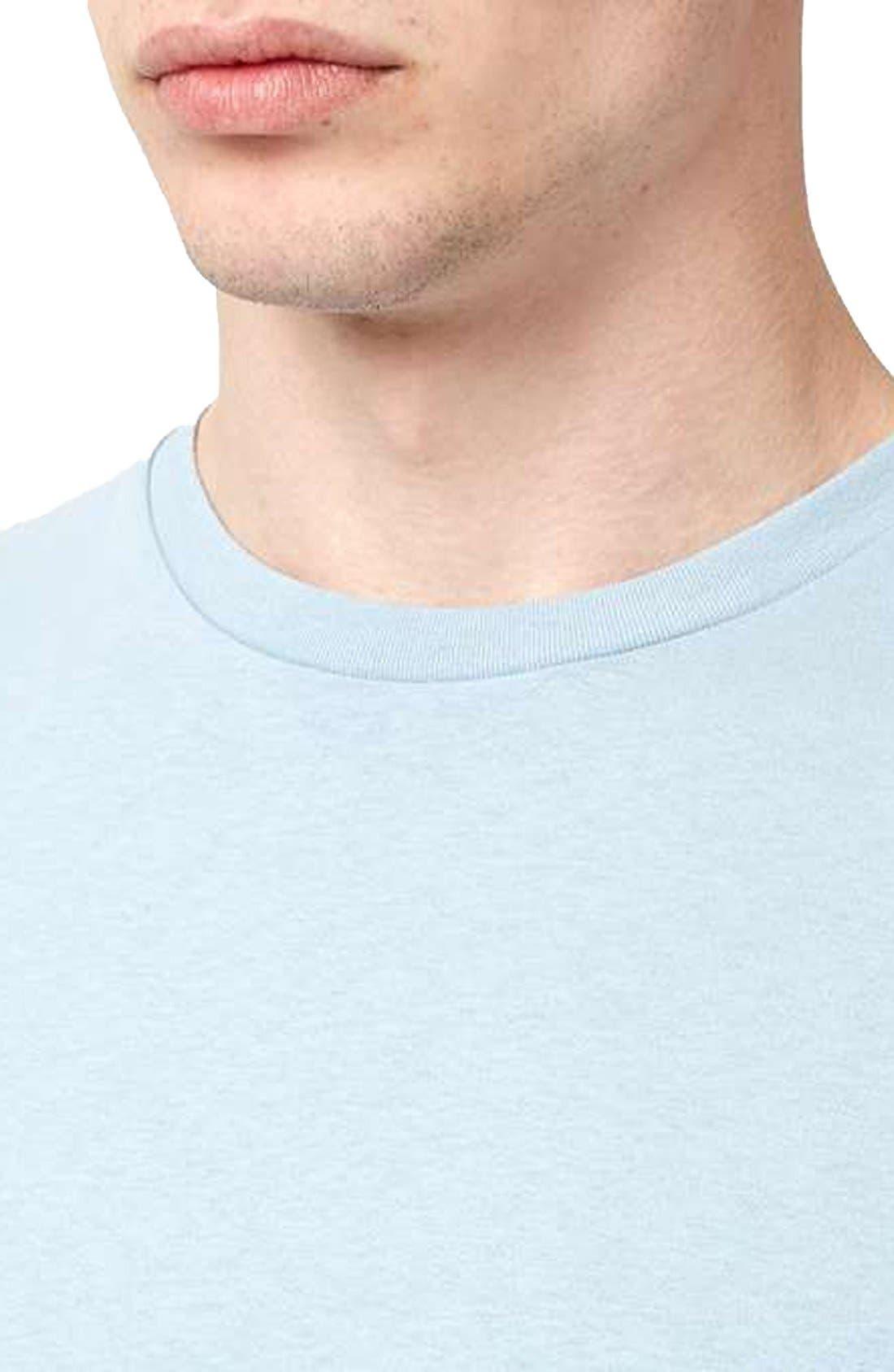 Slim Fit Crewneck T-Shirt,                             Alternate thumbnail 353, color,