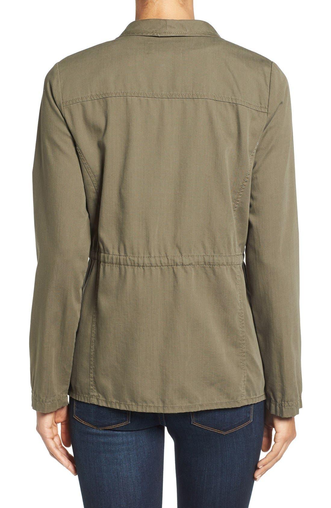 Draped Utility Jacket,                             Alternate thumbnail 23, color,