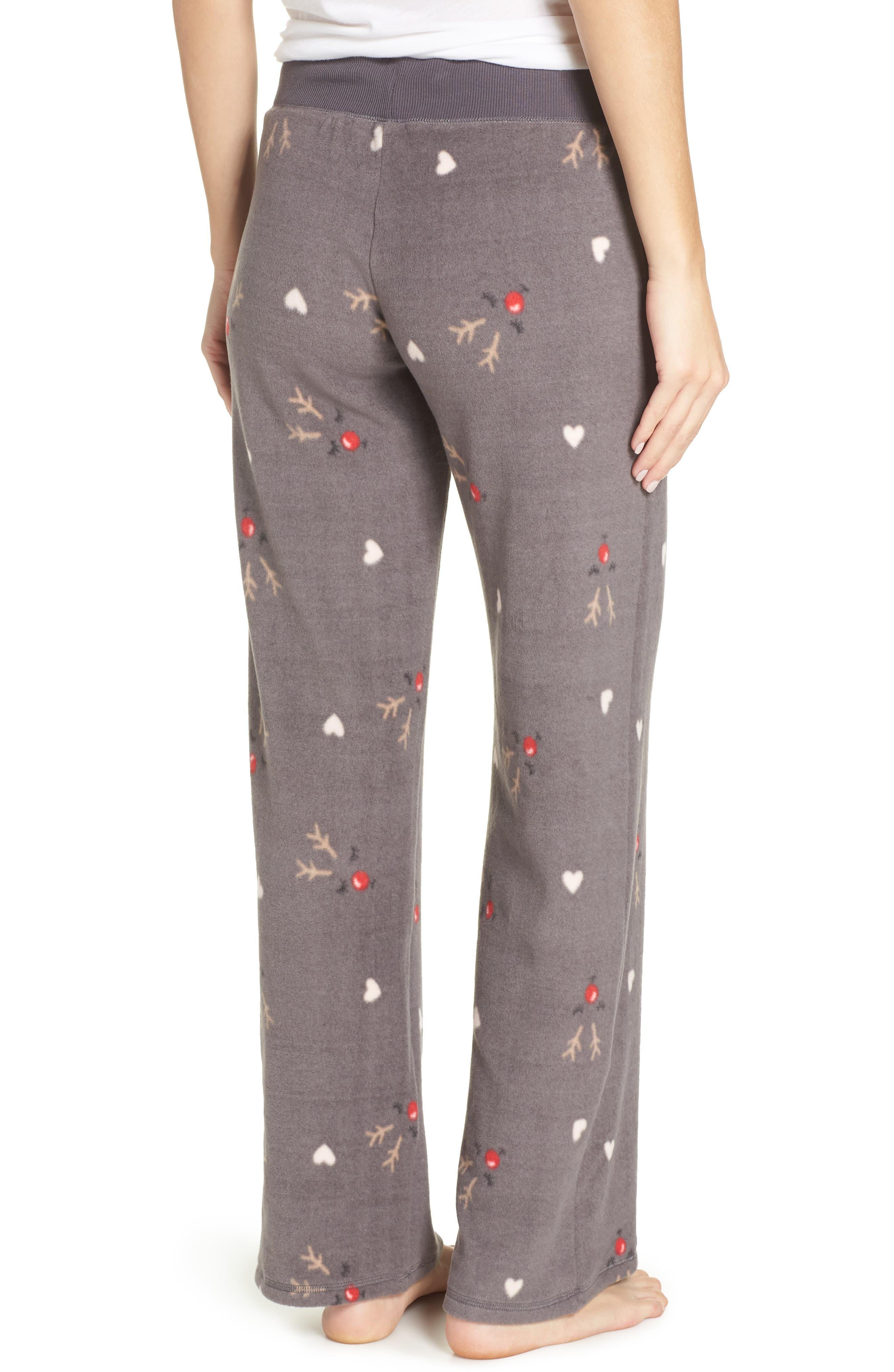 Fleece Pajama Pants,                             Alternate thumbnail 2, color,                             022