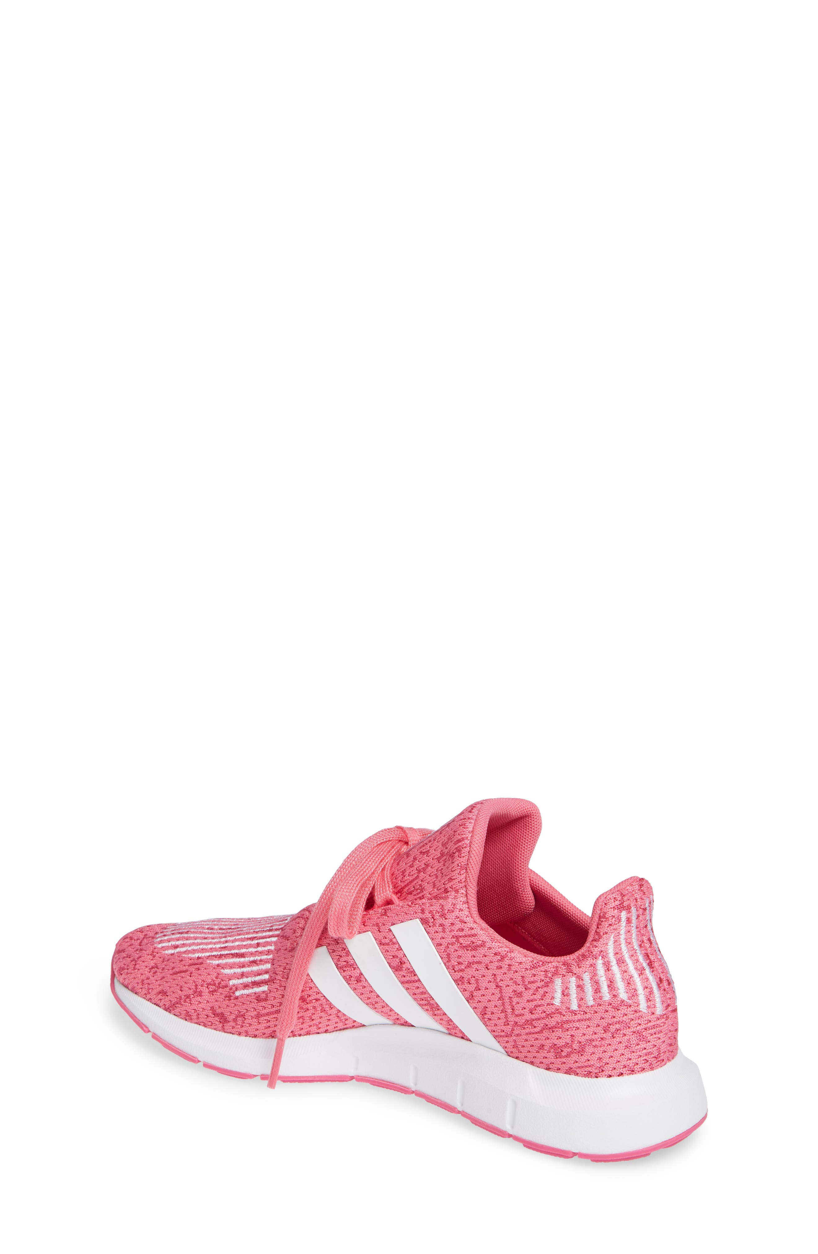 Swift Run J Sneaker,                             Alternate thumbnail 2, color,                             SEMI SOLAR PINK/ WHITE